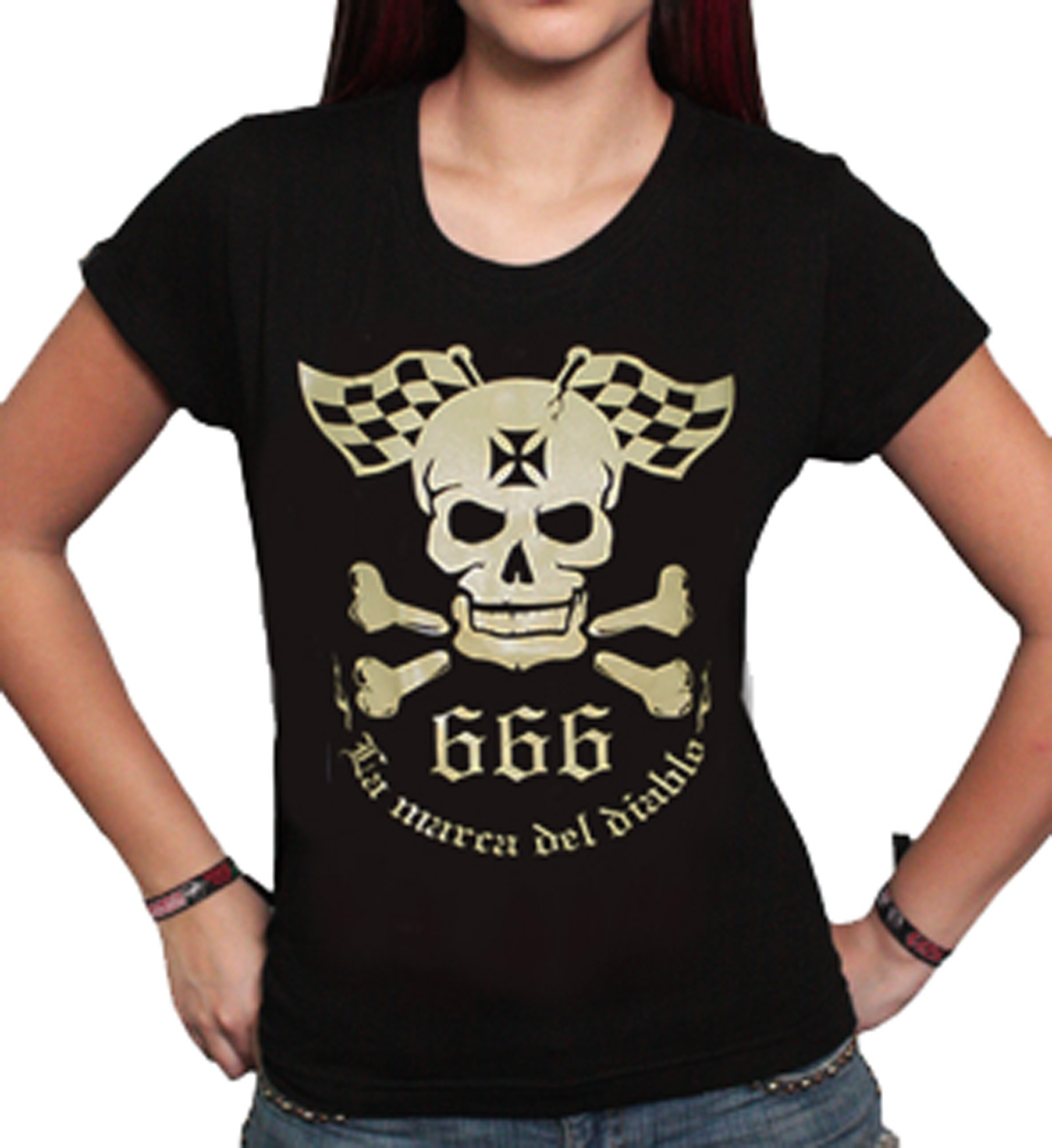 La Marca Del Diablo - LMDD Logo Skull T-Shirt Front