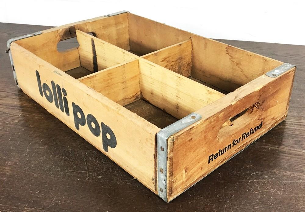 Original Soda Crate - Lolli Pop Getränkekiste