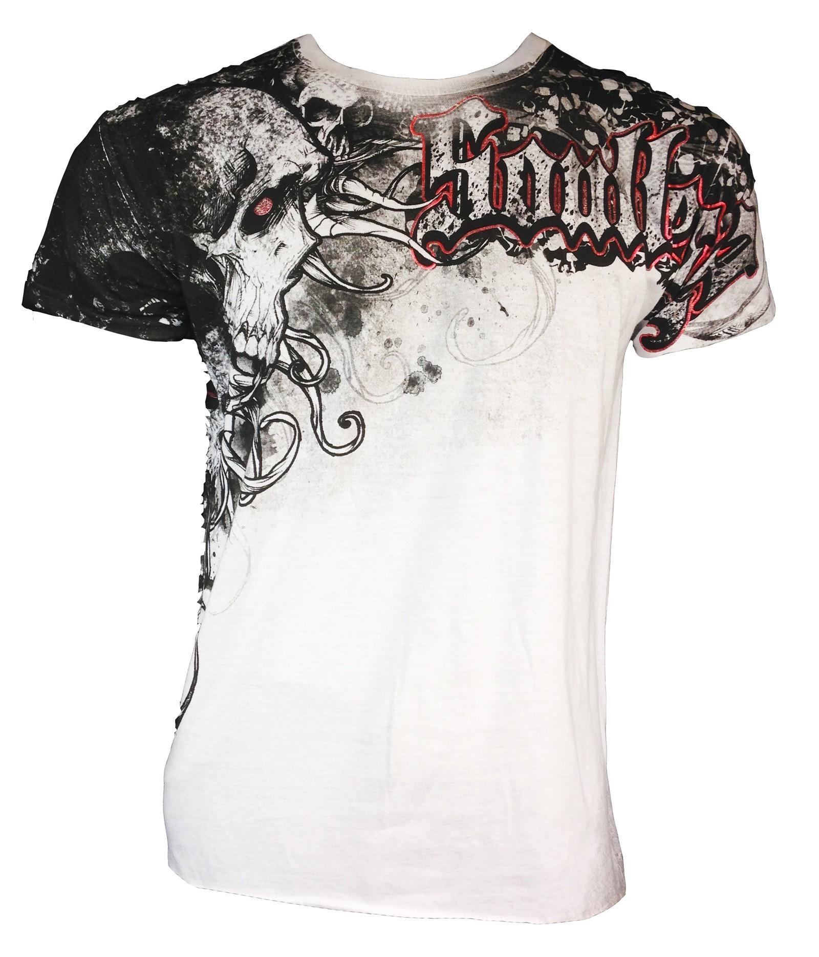 Xzavier - Soul Skulls T-Shirt Front