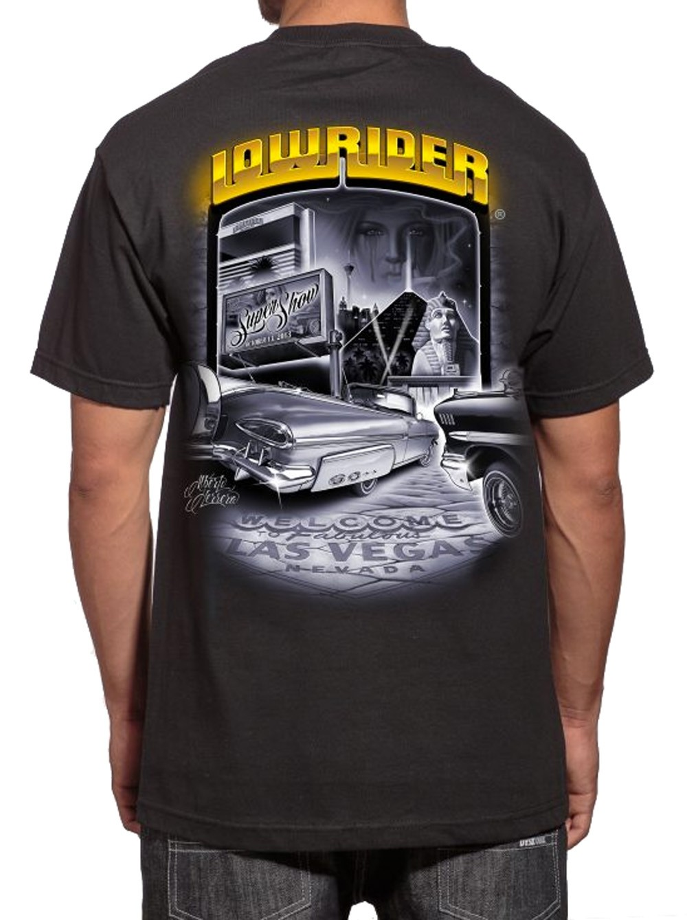 Lowrider Clothing - Supershow 2013 T-Shirt