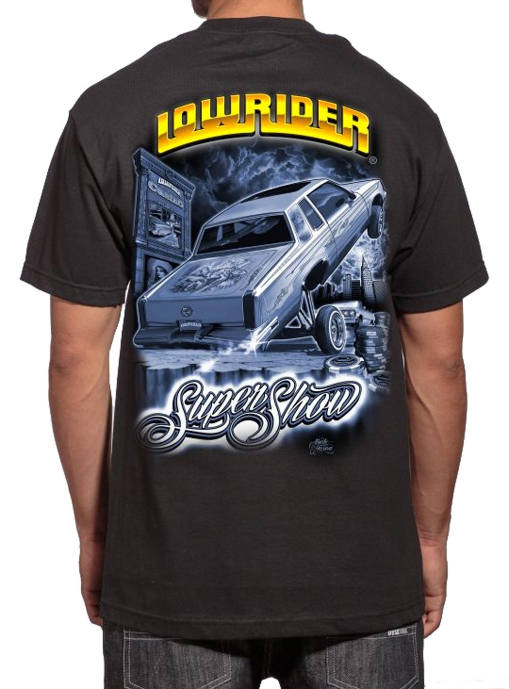 Lowrider Clothing - Supershow 2015 T-Shirt