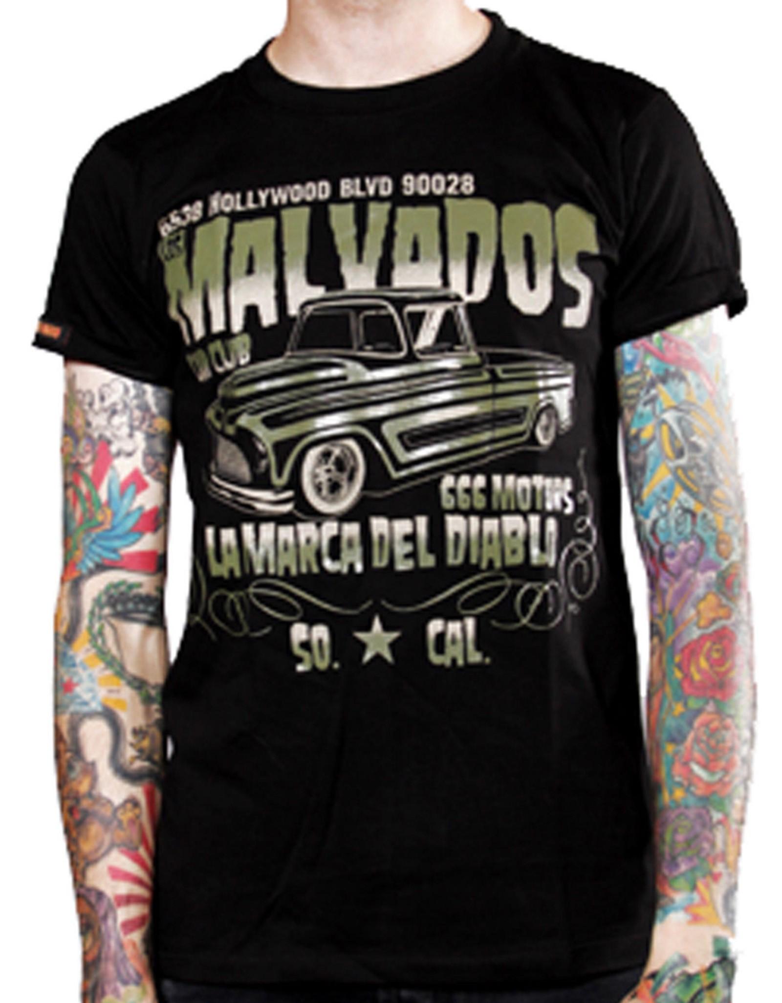La Marca Del Diablo - Malvados T-Shirt Front