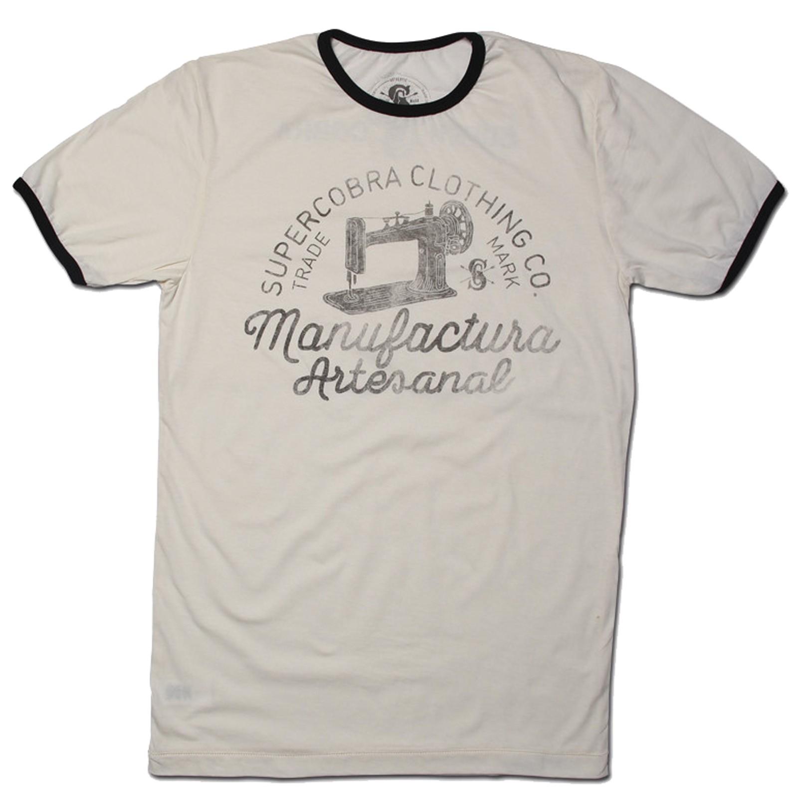 Supercobra Clothing Company - Manufactura Artesanal Ringer T-Shirt