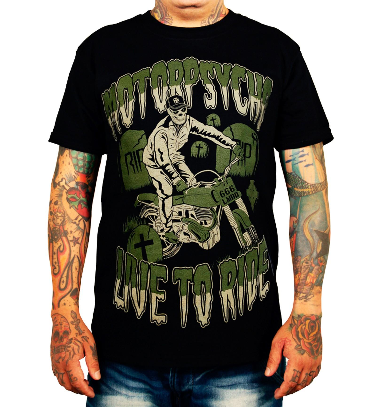La Marca Del Diablo - Motorpsycho T-Shirt Front