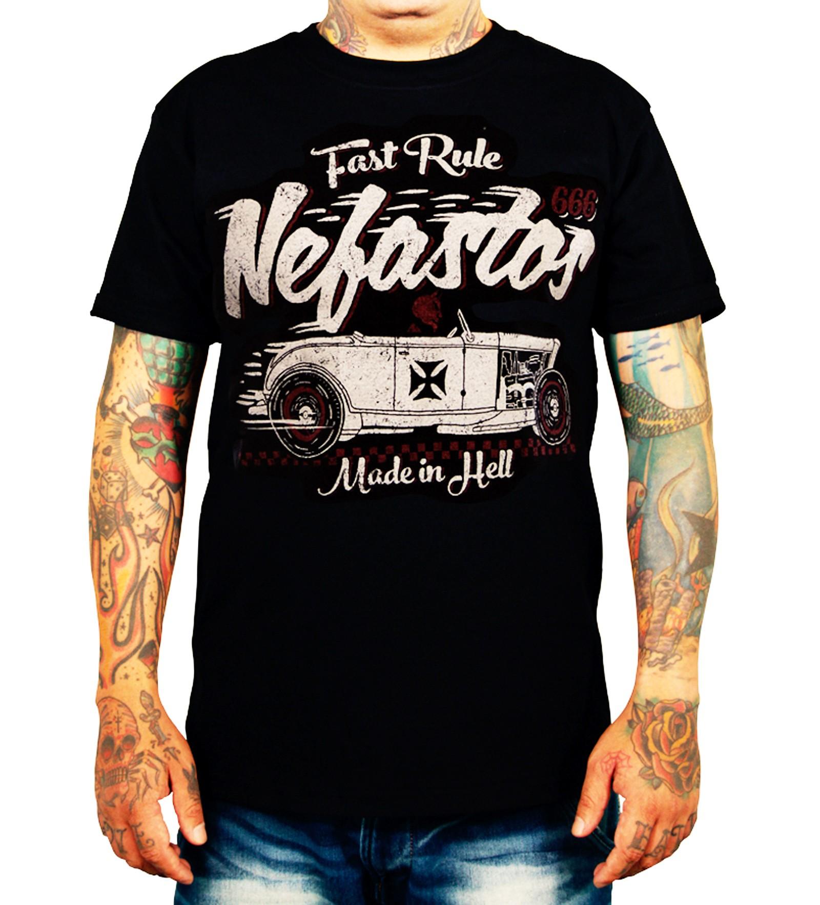 La Marca Del Diablo - Nefastos T-Shirt Front