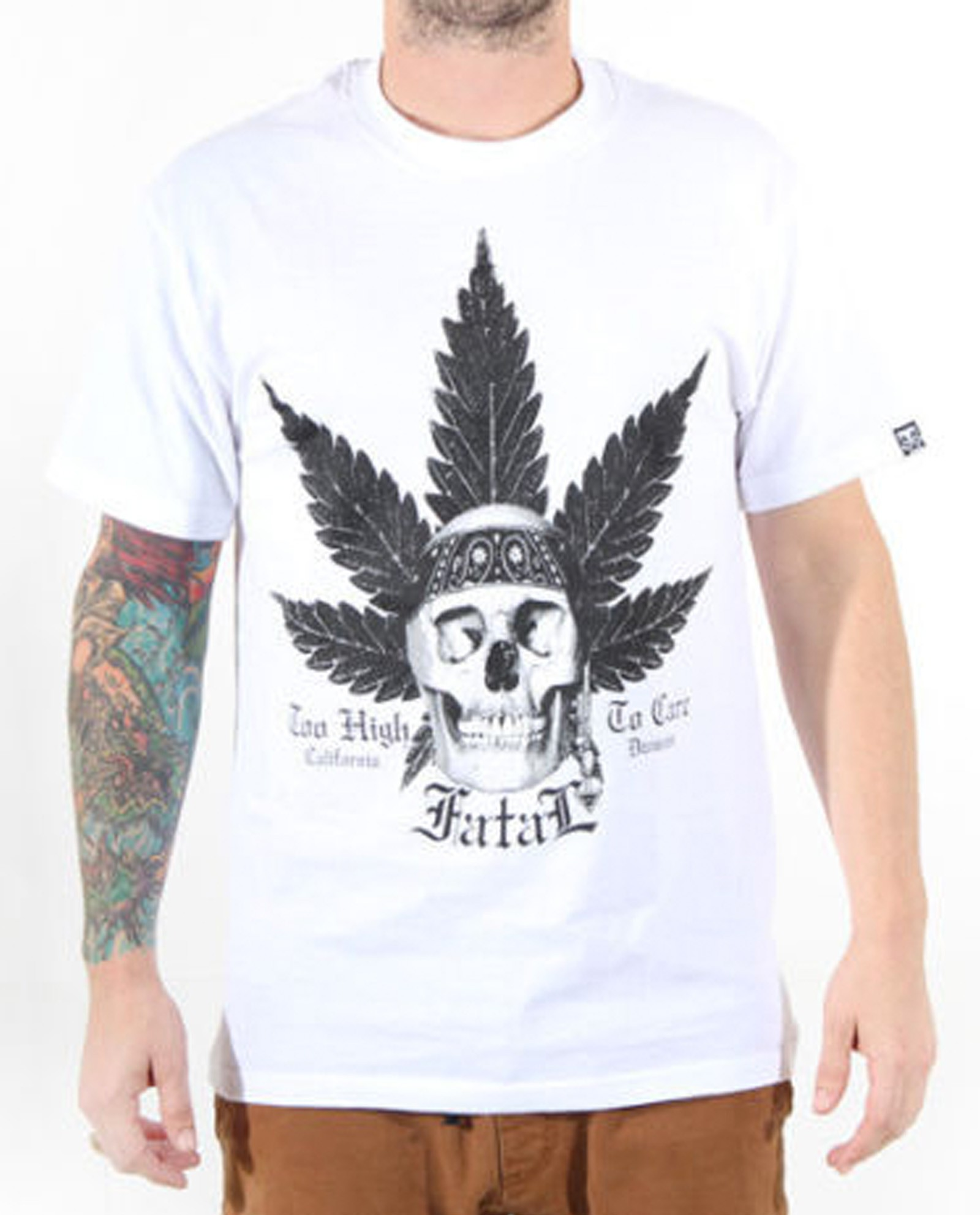 Fatal Clothing - No Worries Skull T-Shirt Front