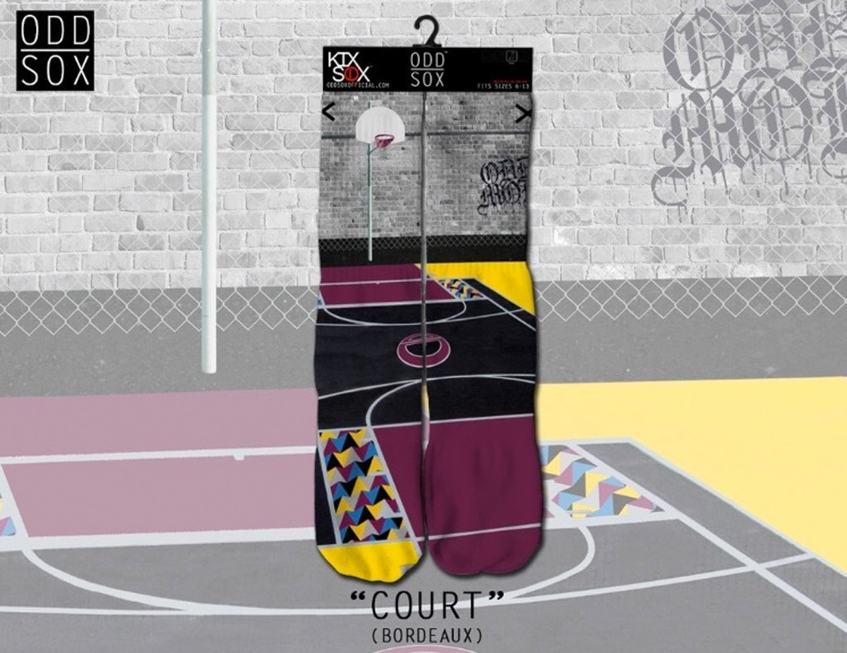 ODD Sox - Bordeaux Court Socken
