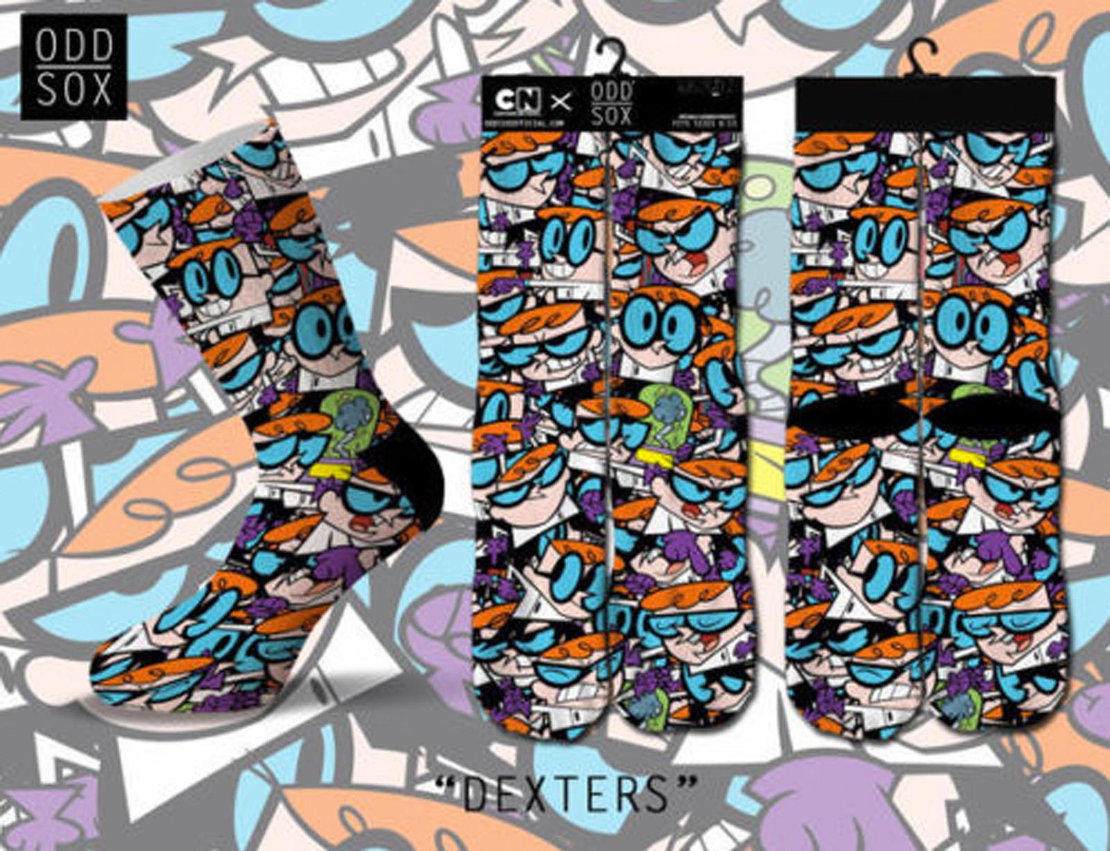 ODD Sox - Dexters Laboratory Socken
