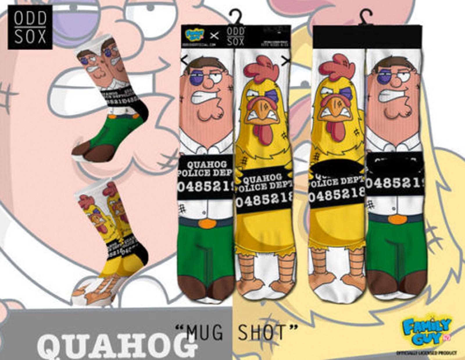 ODD Sox - Family Guy Edition Mug Shots Socken
