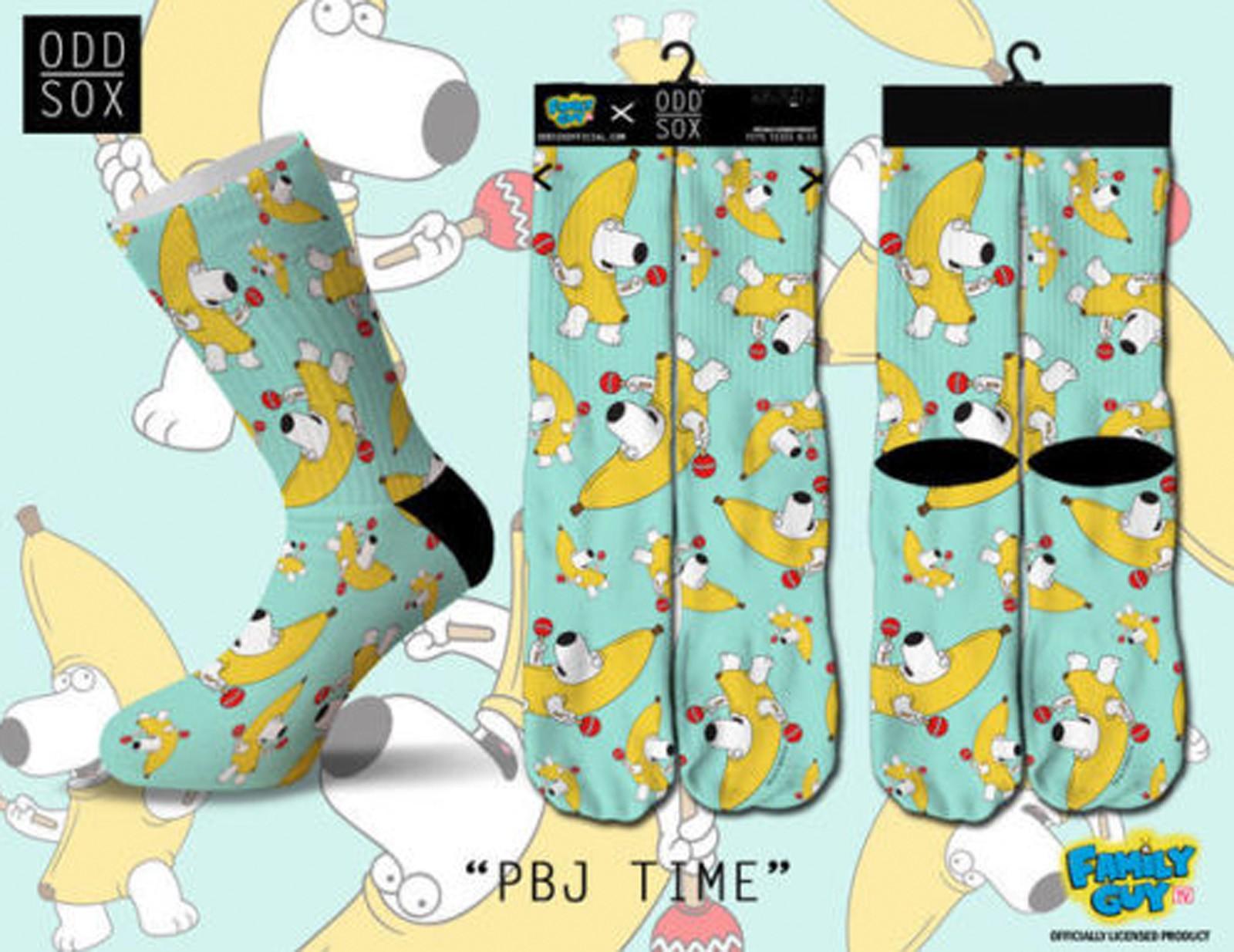 ODD Sox - Family Guy Edition PBJ Time Socken