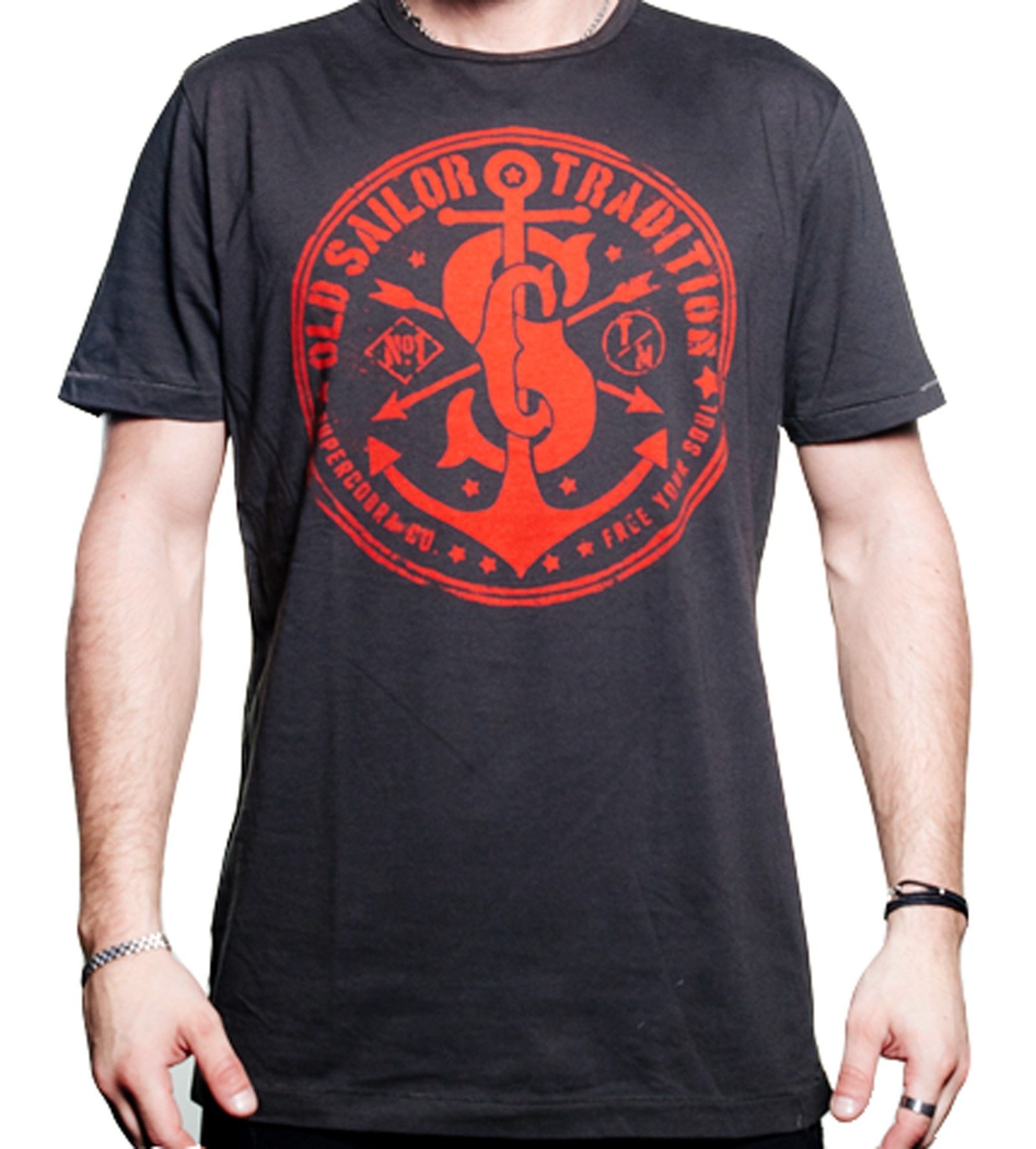 Supercobra Clothing Company - Old Sailor T-Shirt Front