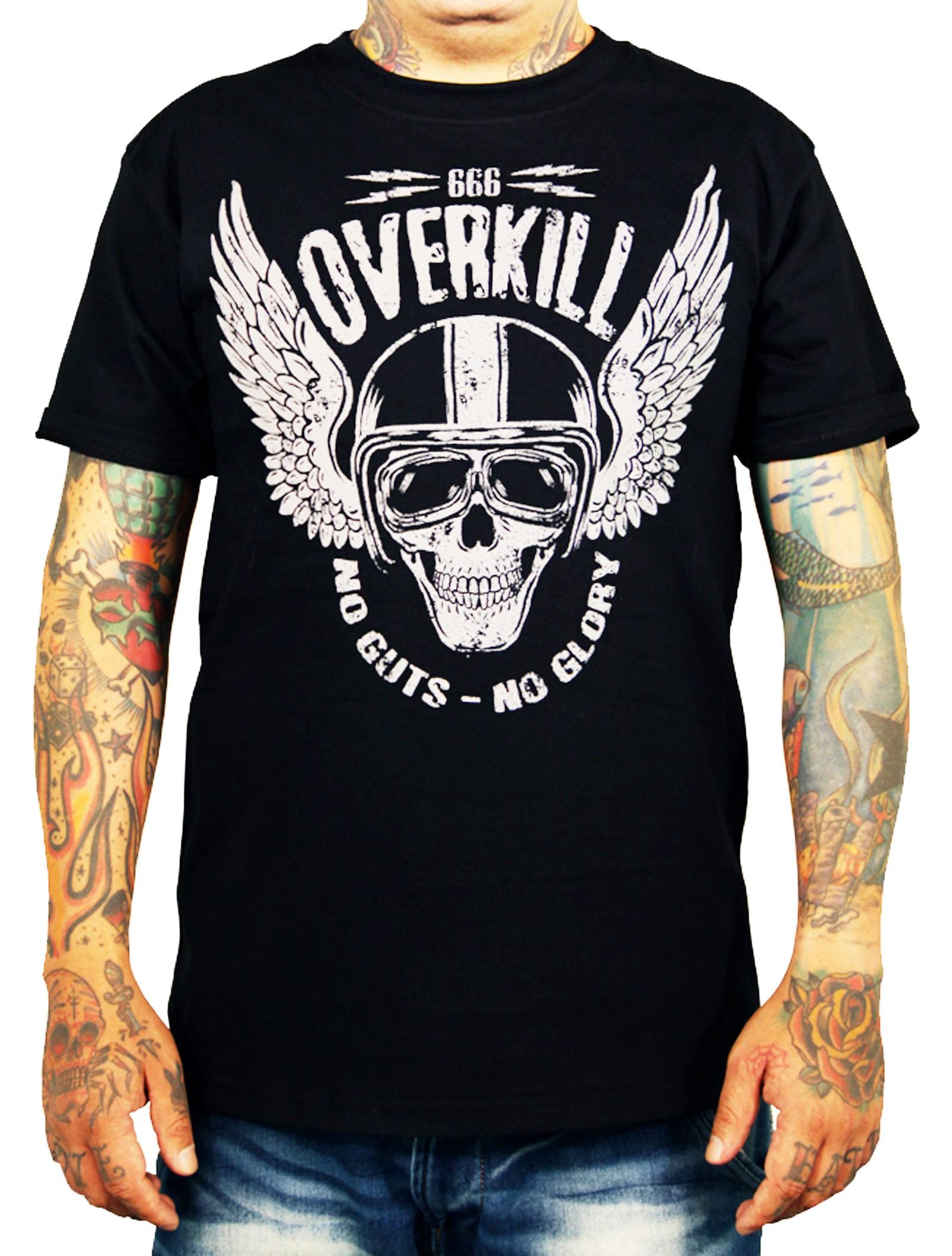 La Marca Del Diablo - Overkill 666 T-Shirt Front