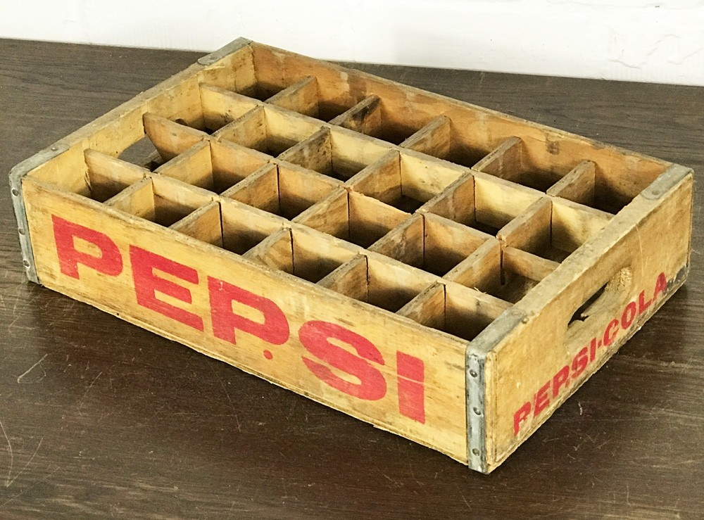 Original Soda Crate - Pepsi Cola 24er Getränkekiste