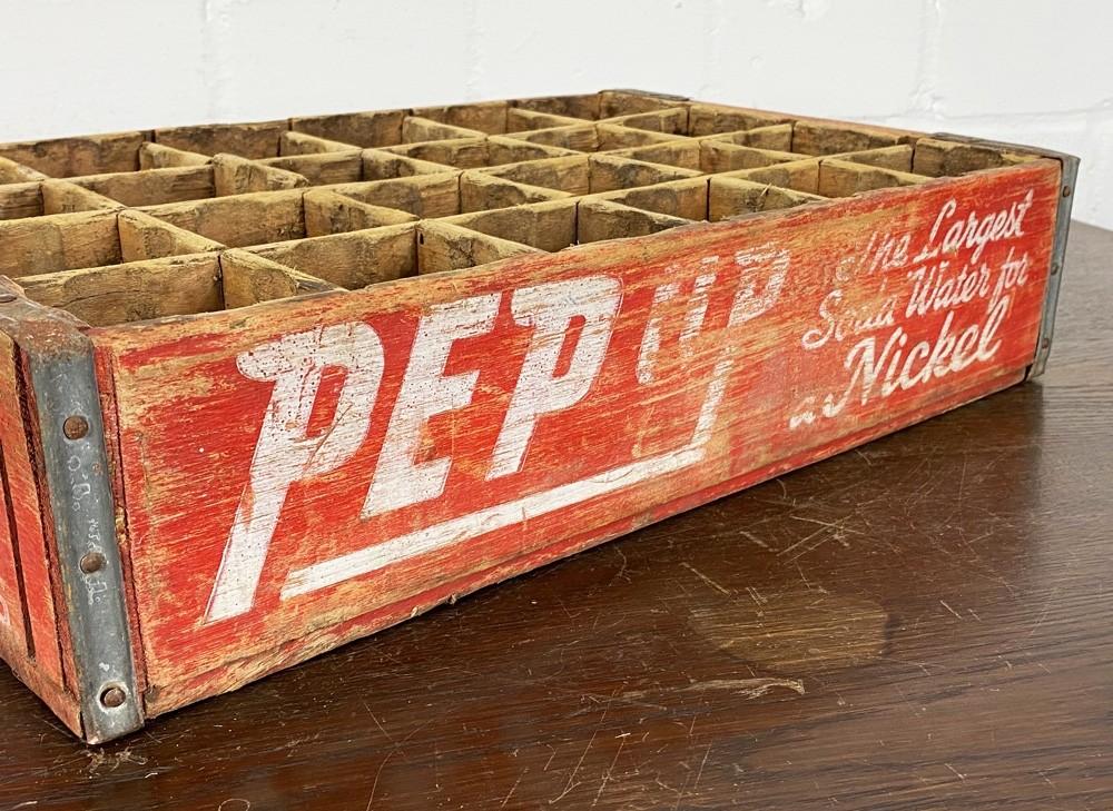 Original Soda Crate - Pep Up Soda Getränkekiste