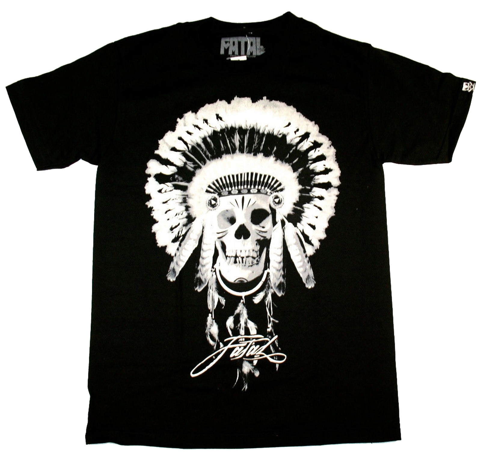 Fatal Clothing - Chief Skull T-Shirt Front