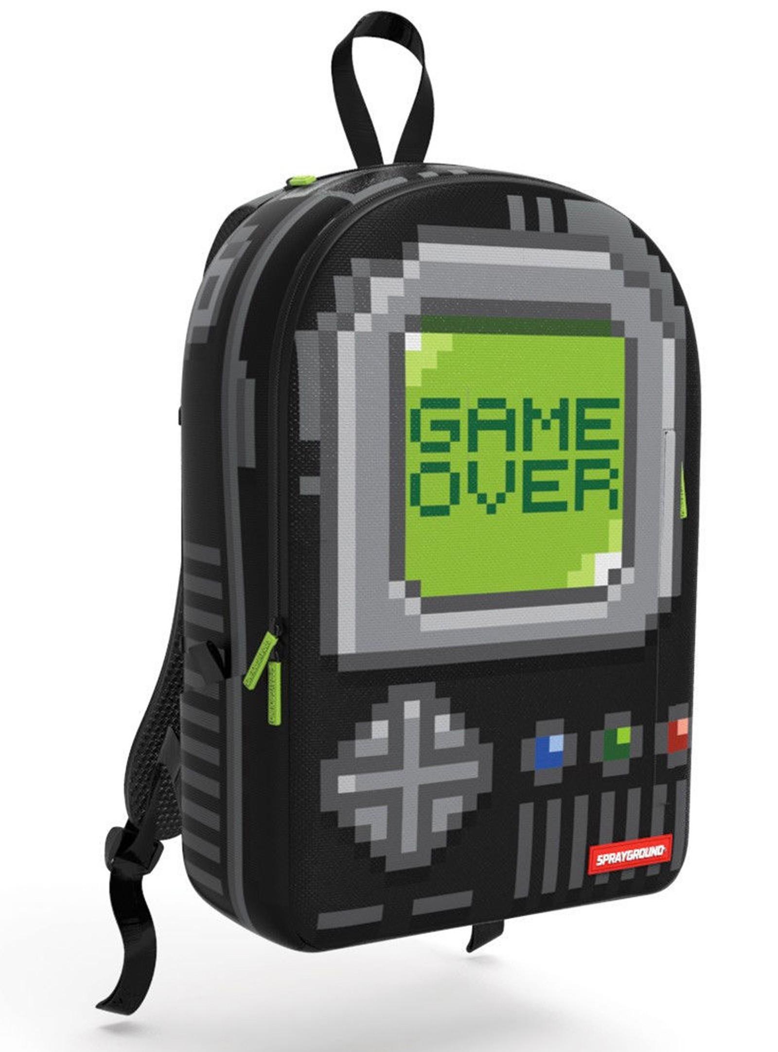 Sprayground Gameboy Pixel Games Rucksack Front