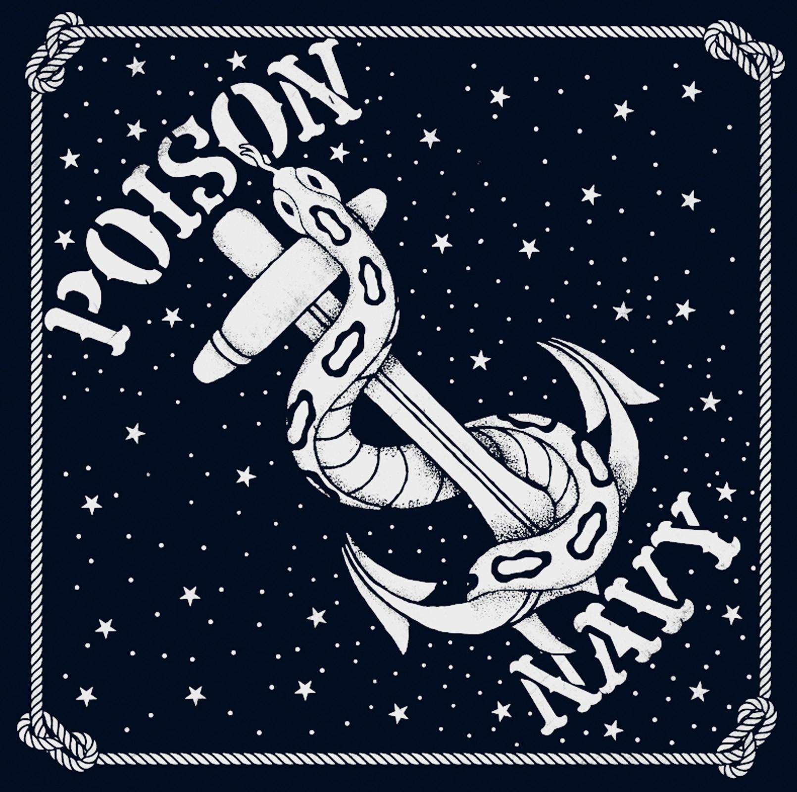 La Marca Del Diablo - Poison Navy Bandana