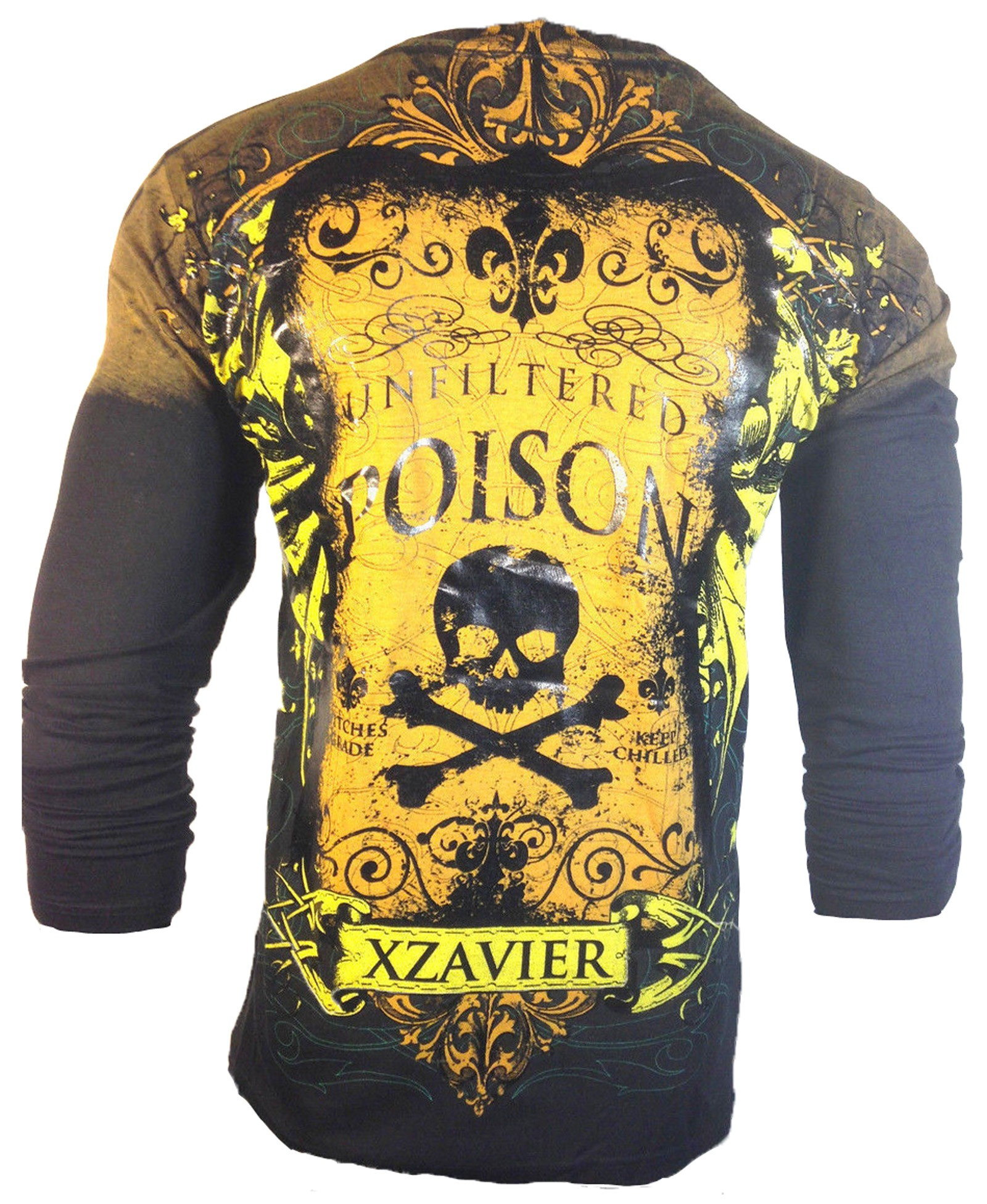 Xzavier - Unfiltered Poison Longsleeve T-Shirt Back
