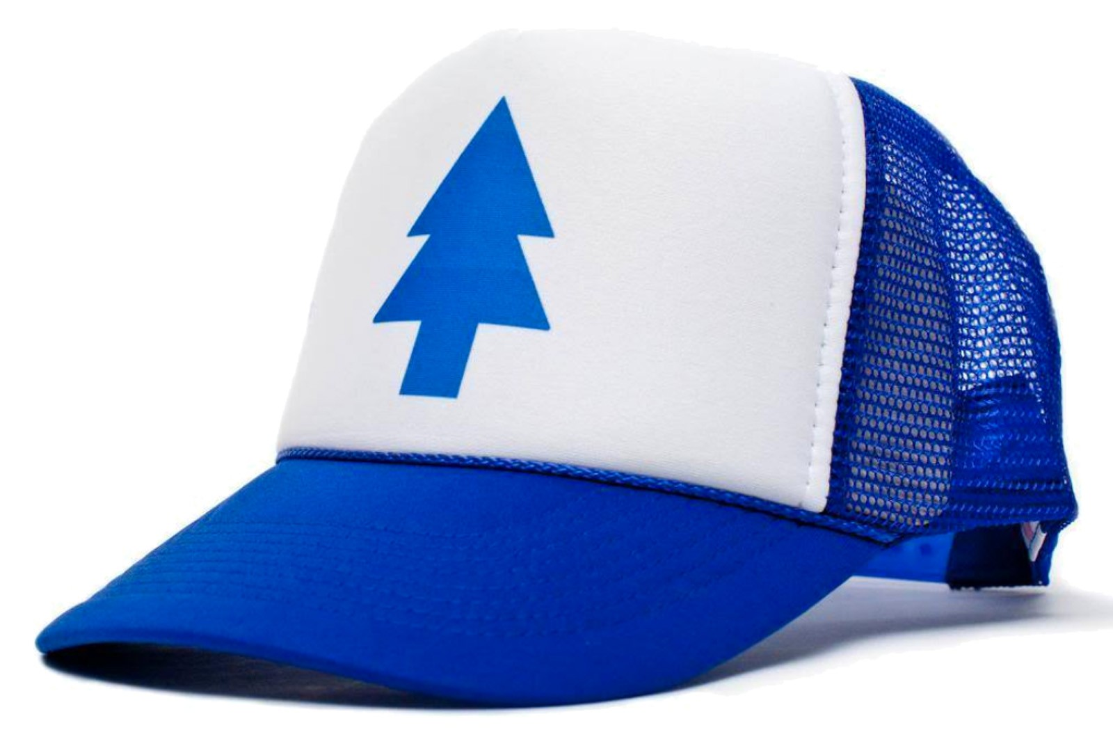 Retro Cap - Dipper Blue Pine Tree Trucker Cap
