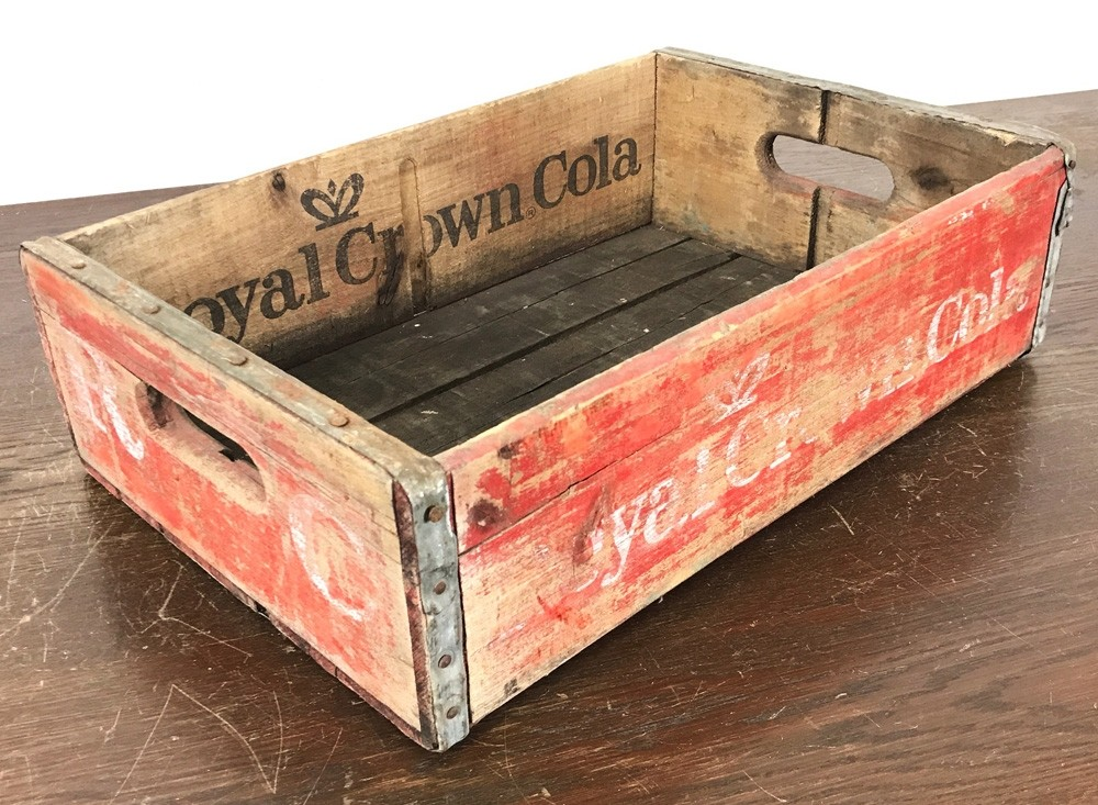 Original Soda Crate - Royal Crown Cola Getränkekiste