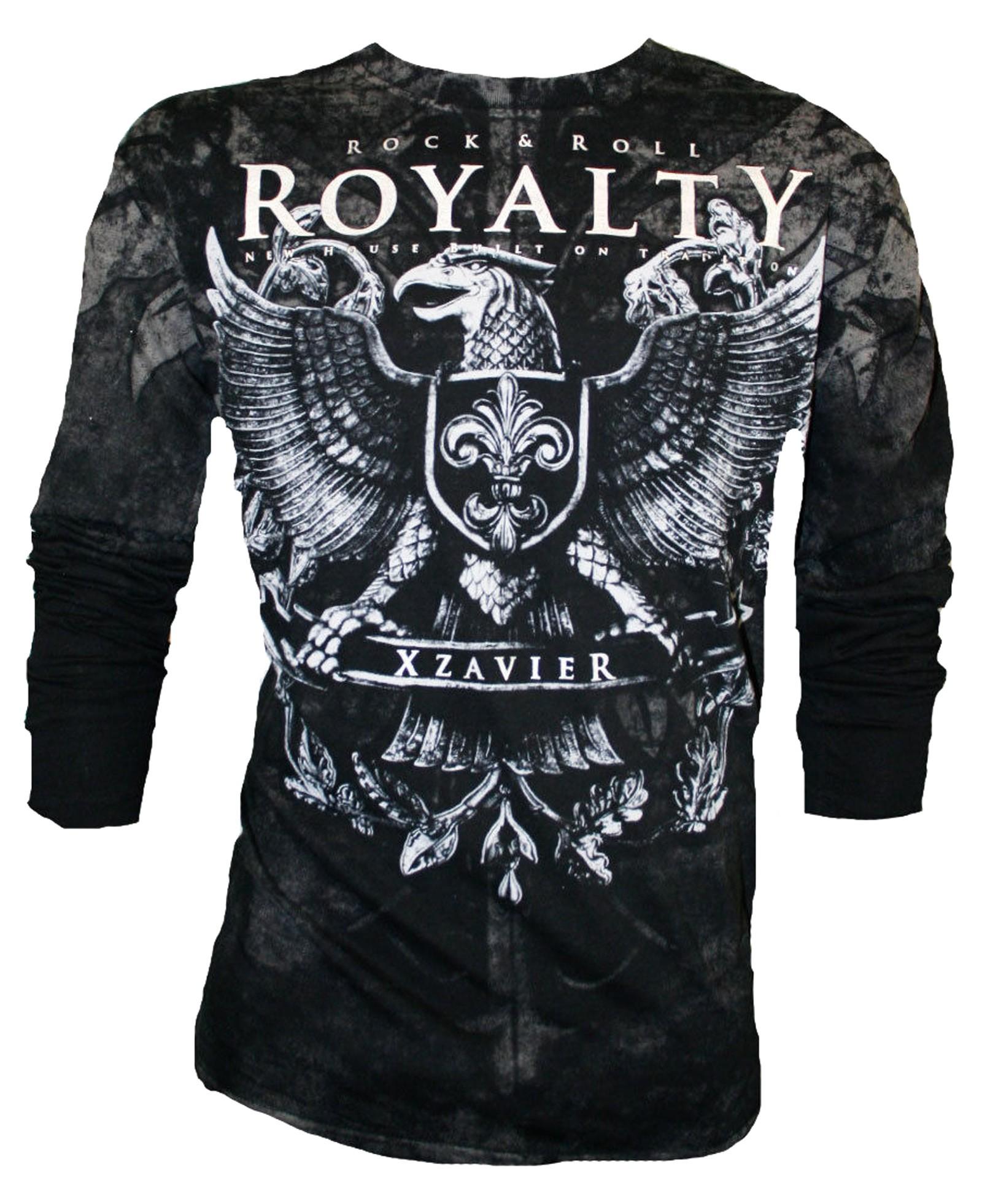 Xzavier - Royalty Longsleeve T-Shirt Front
