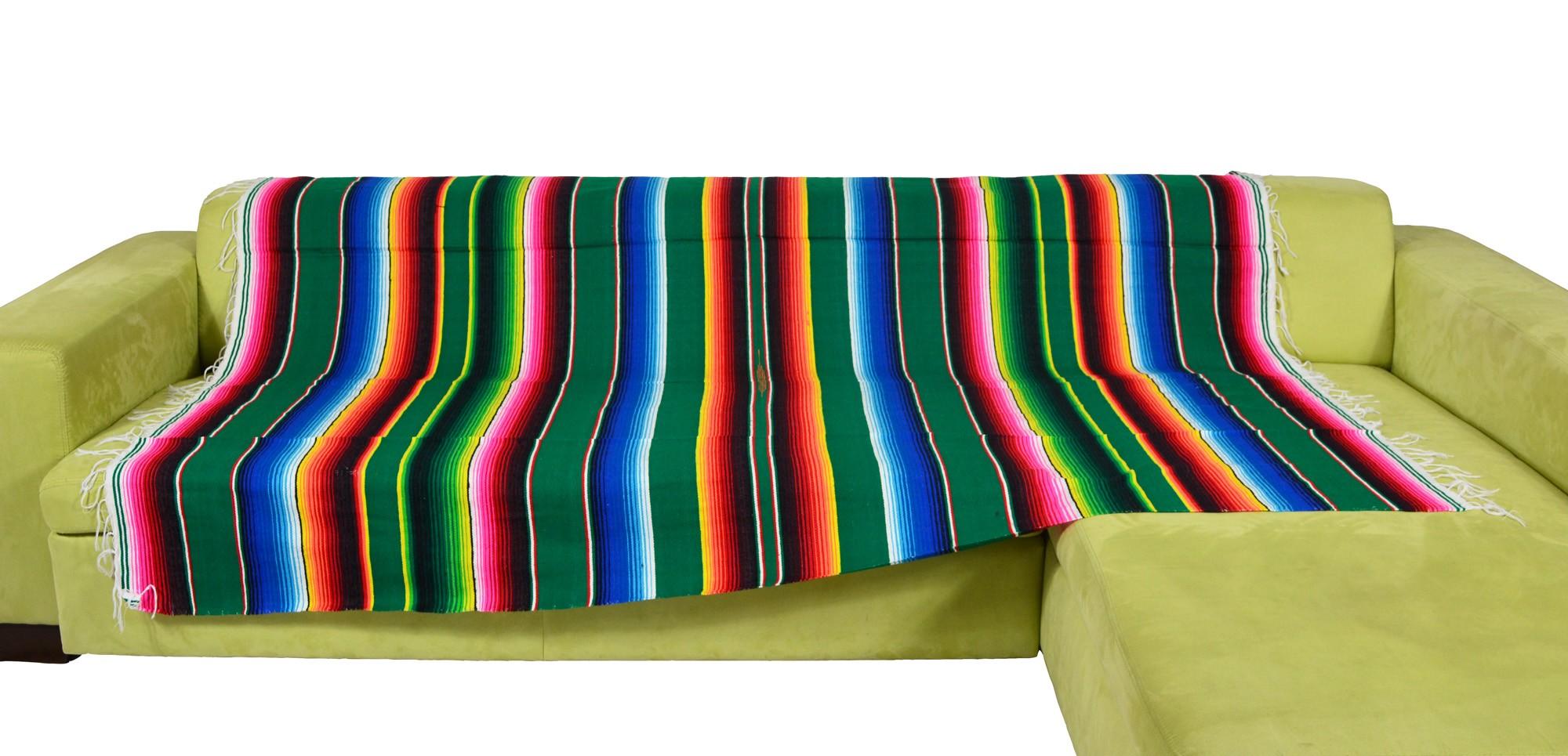 Viva Mexico Sarape Blanket Decke Gr. L