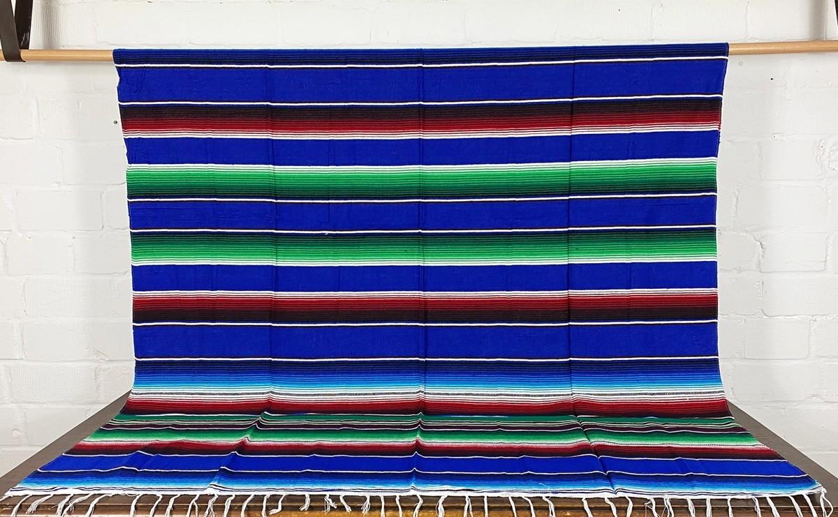 Viva Mexico Serape Blanket Decke L