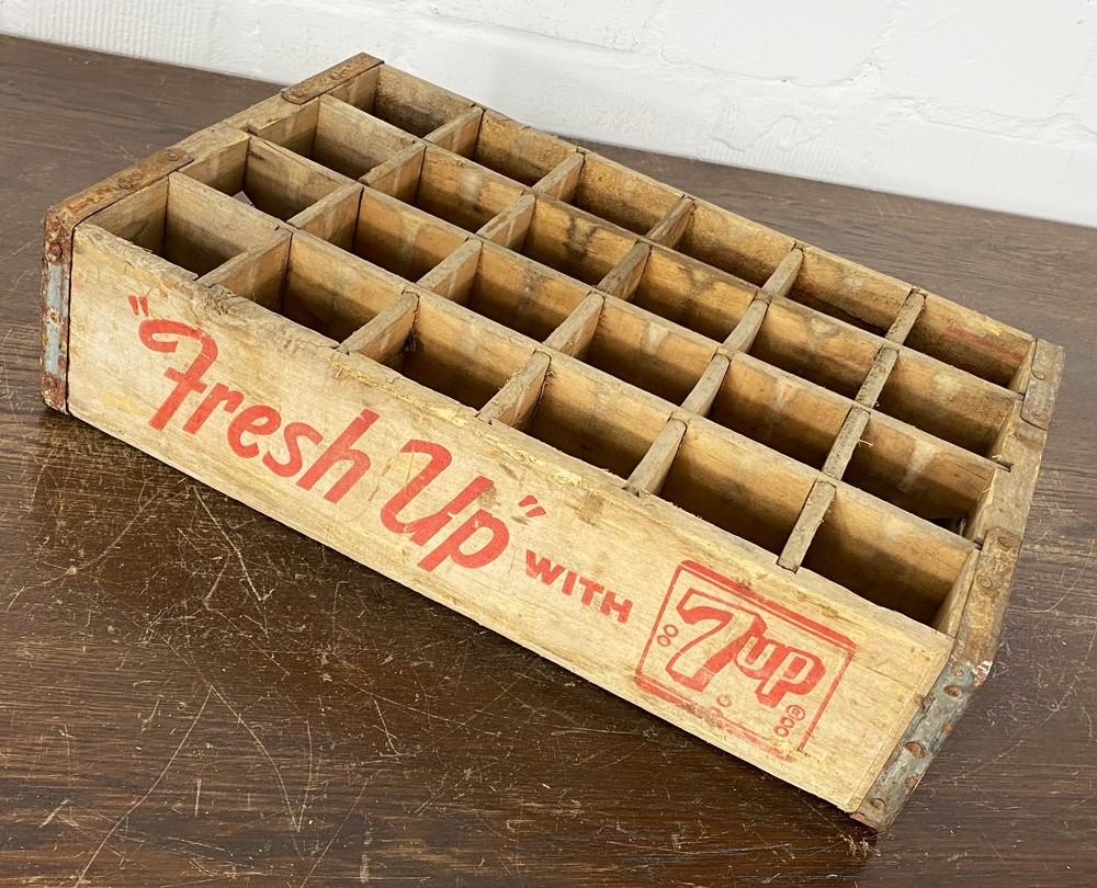 Original Soda Crate - Seven Up Fresh Up 24er Getränkekiste