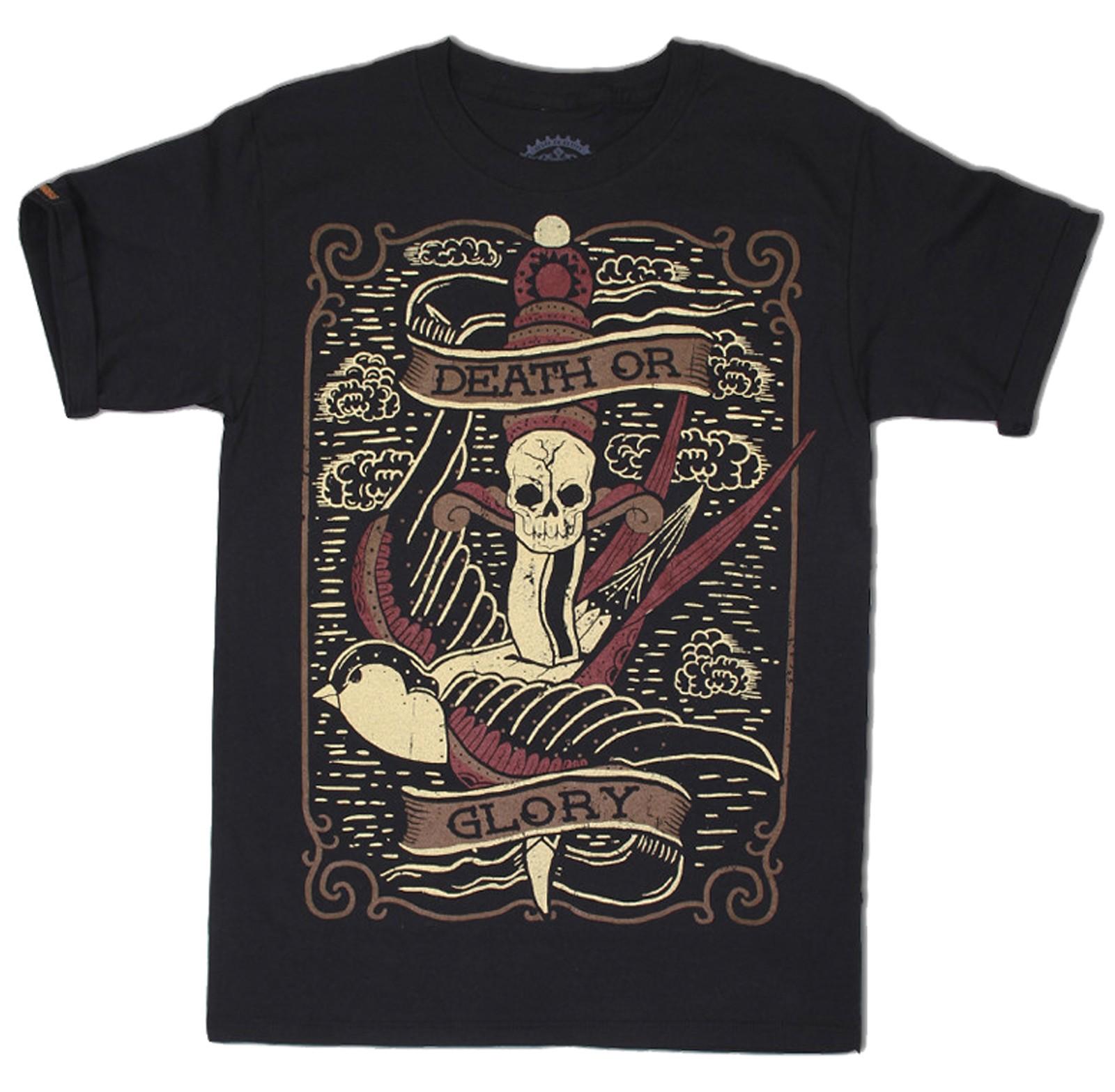 La Marca Del Diablo - Swallows & Daggers T-Shirt Front