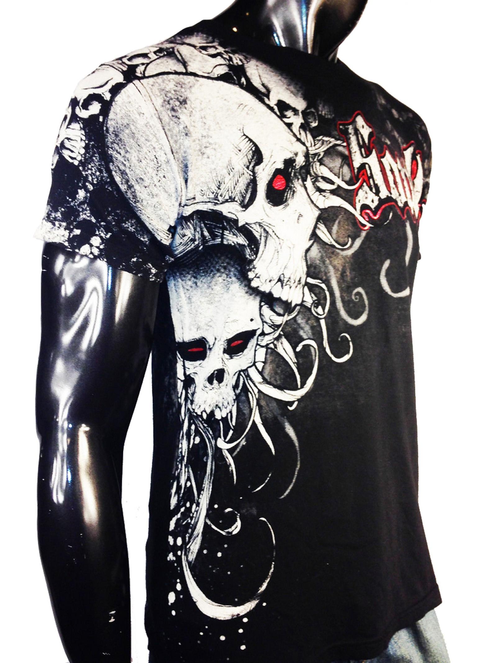 Xzavier - Soul Skulls T-Shirt Side