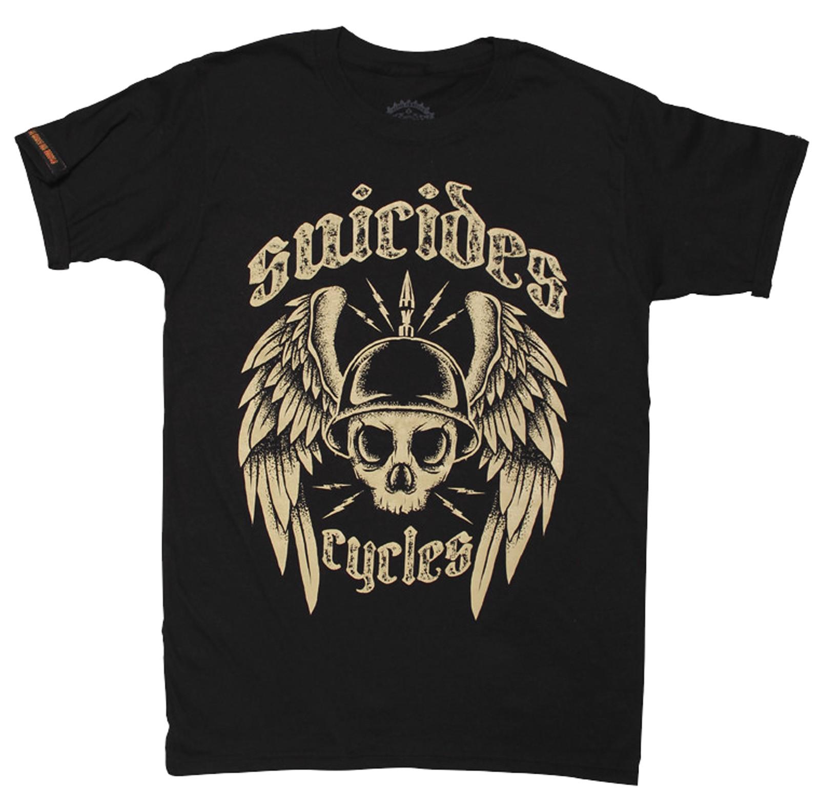 La Marca Del Diablo - Suicides Skull T-Shirt Front