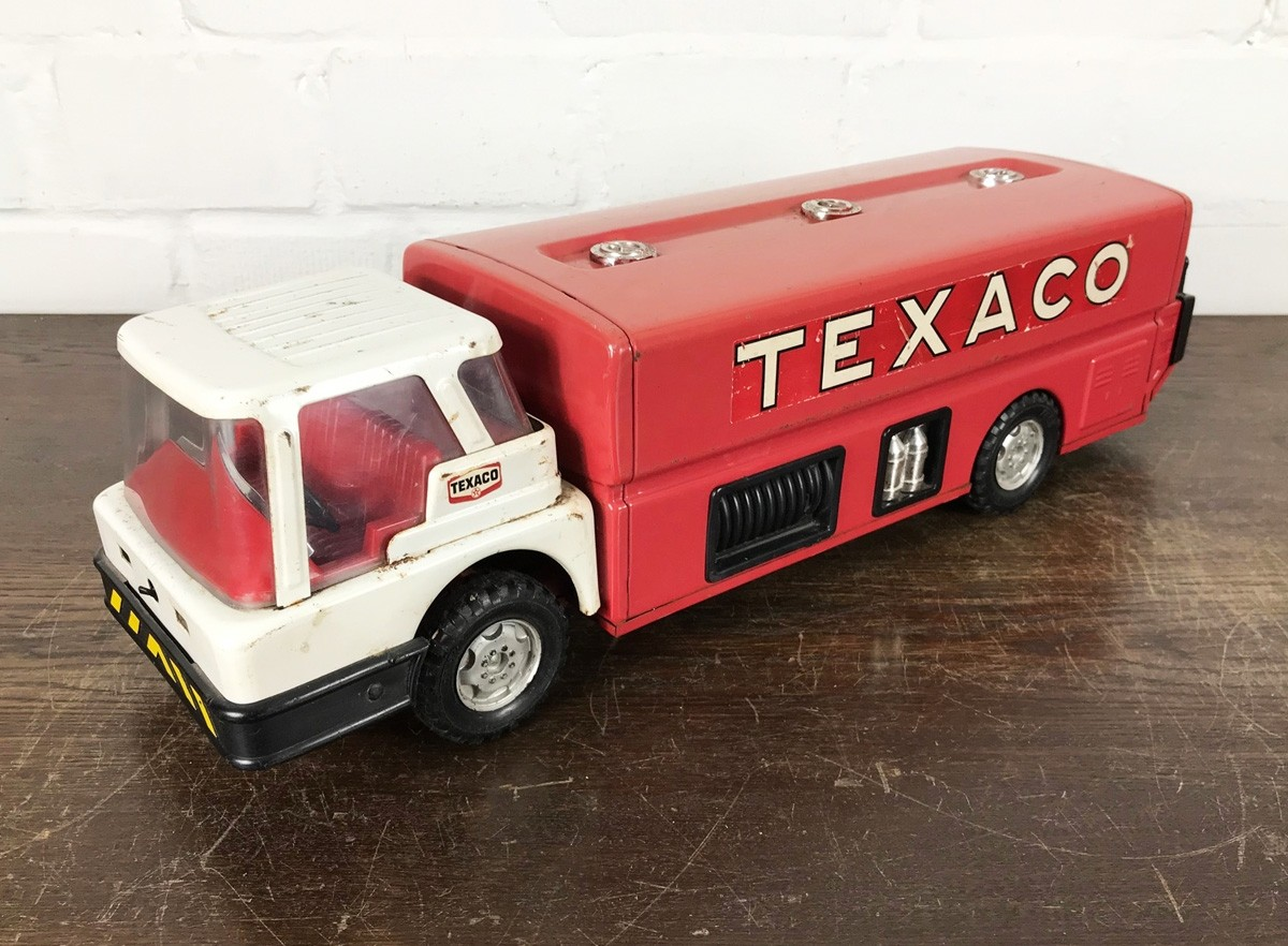 Original USA Toy - Texaco Jet Fuel Tanker Truck