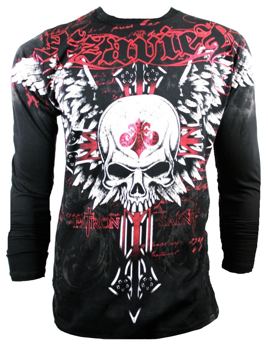 Xzavier - Unforgiven Longsleeve T-Shirt Front