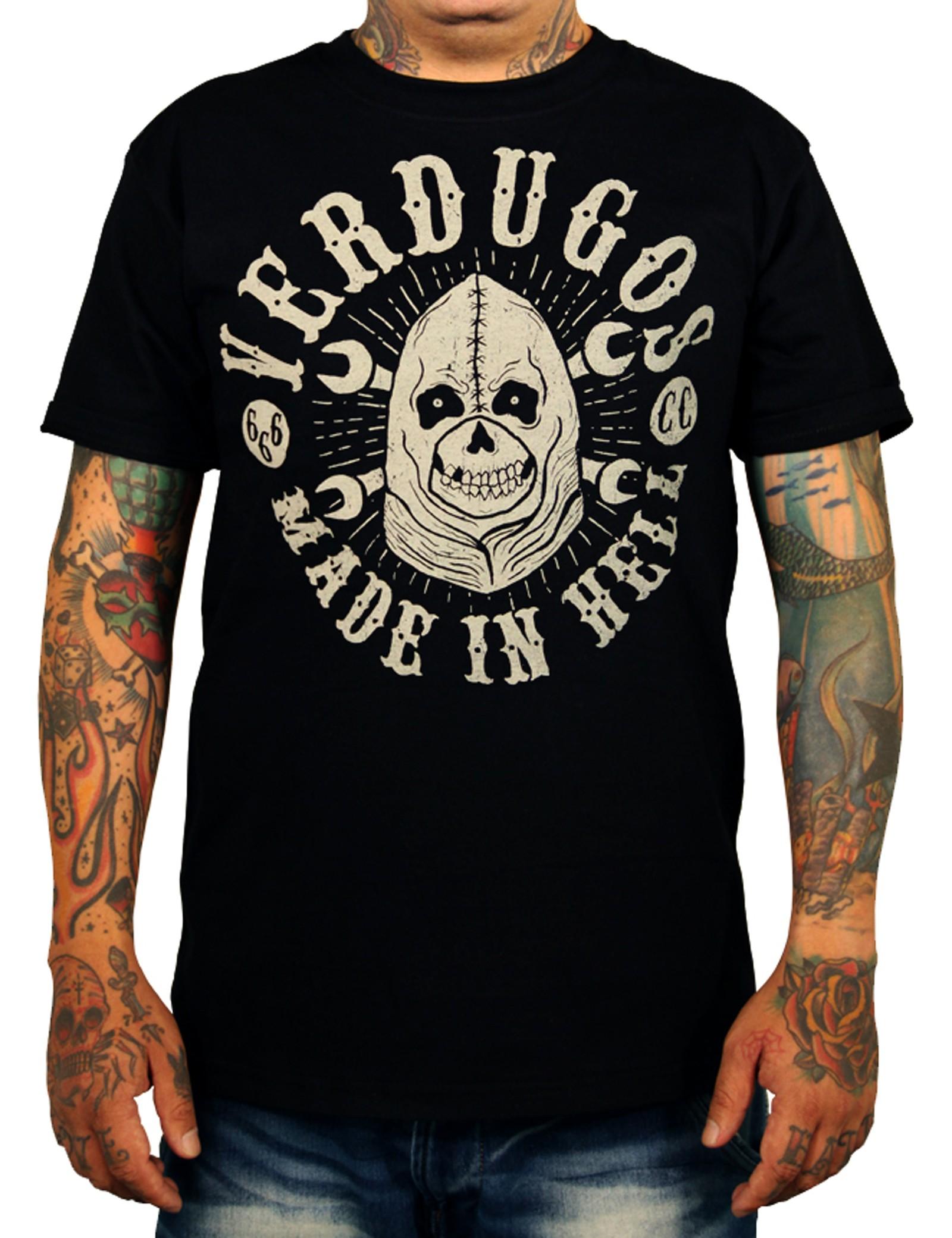 La Marca Del Diablo - Verdugos T-Shirt Front