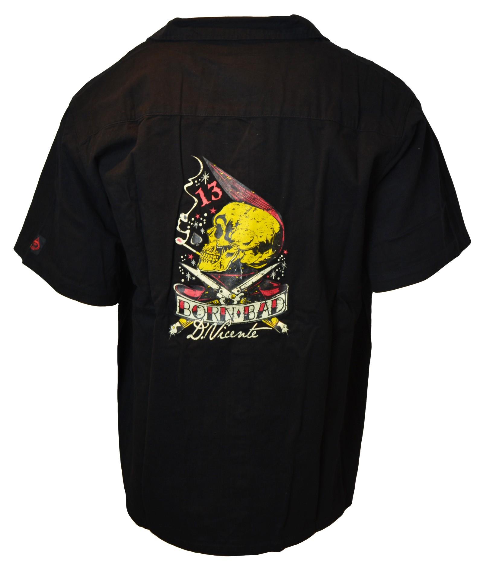 David Vicente - Born Bad Work Shirt