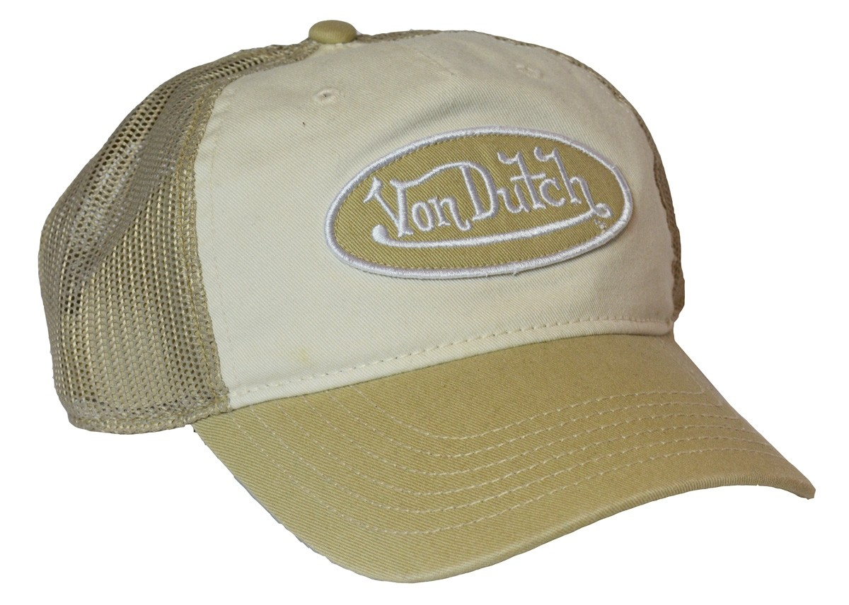 Von Dutch - Sand/White Baseball Cap