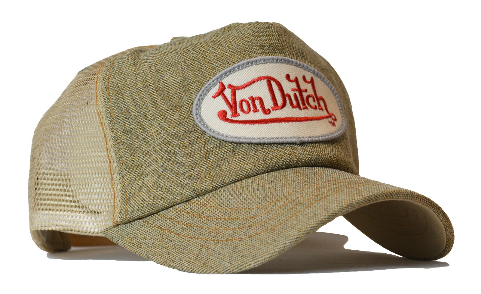 Von Dutch - Denim Sand Mesh Trucker Cap