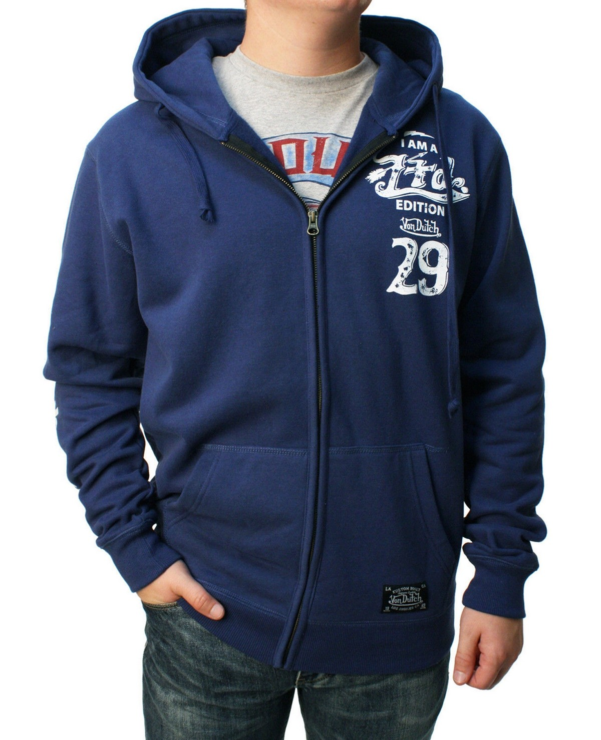 Von Dutch - I Am A Limited Edition Zipper Hoodie