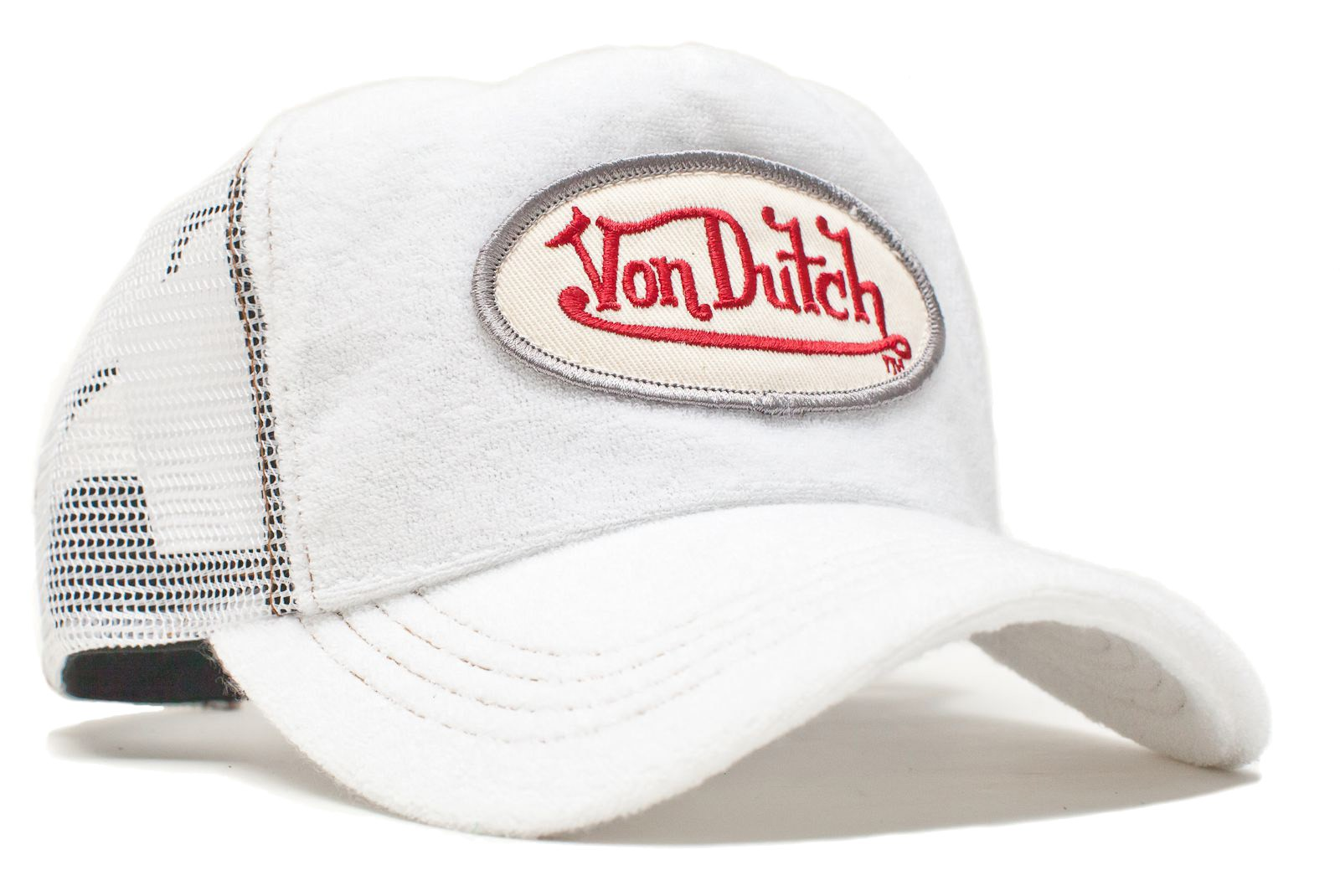 Von Dutch - Terry Cloth Mesh Trucker Cap