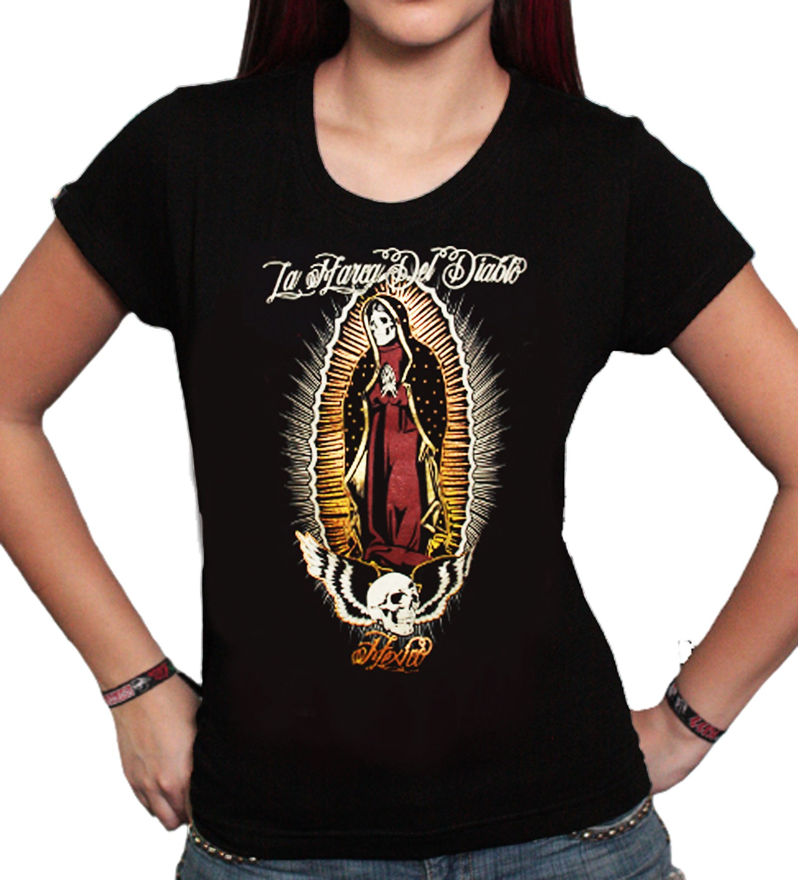 La Marca Del Diablo - La Virgen T-Shirt Front