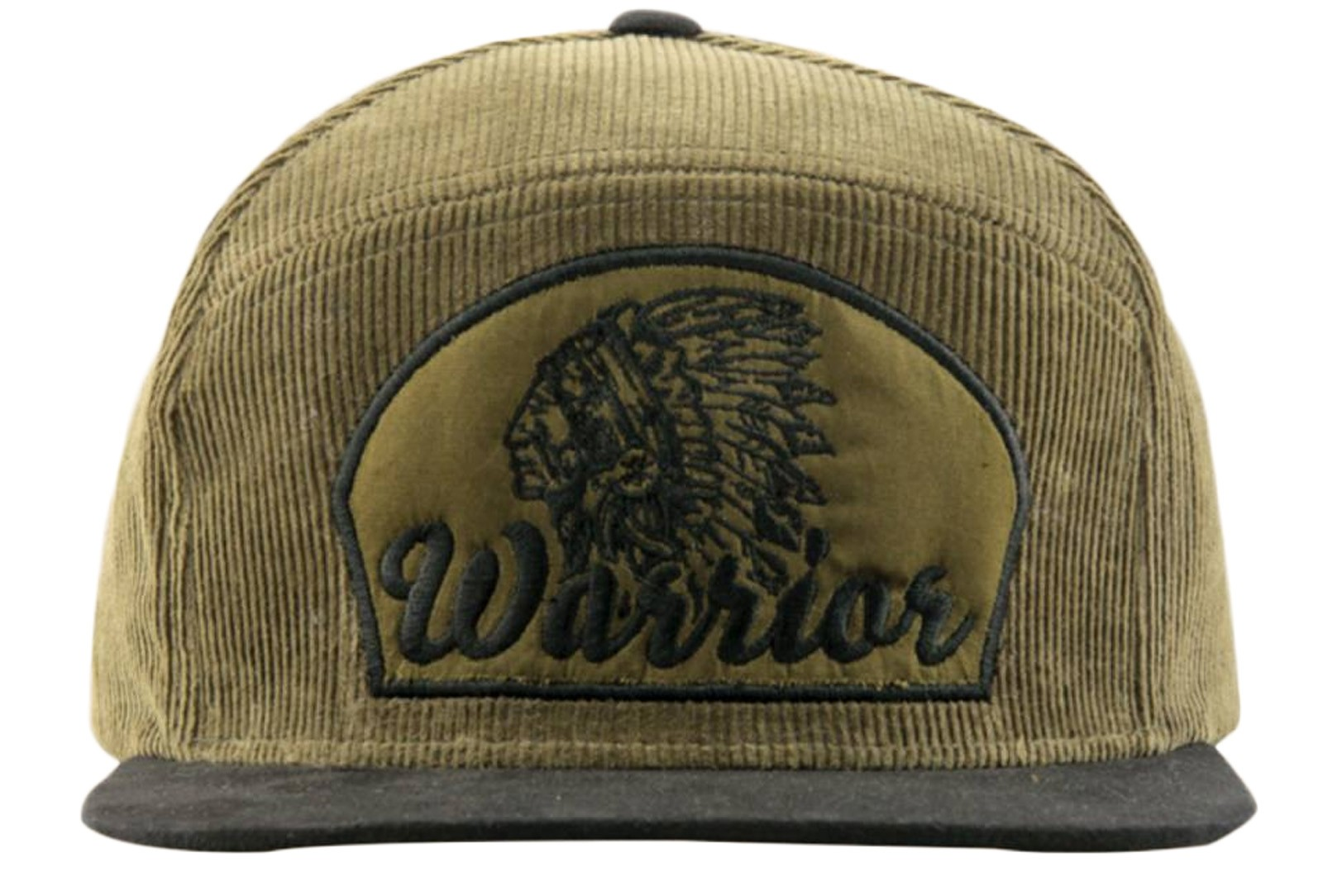 Supercobra Clothing Company - Warrior Snapback Cap Front
