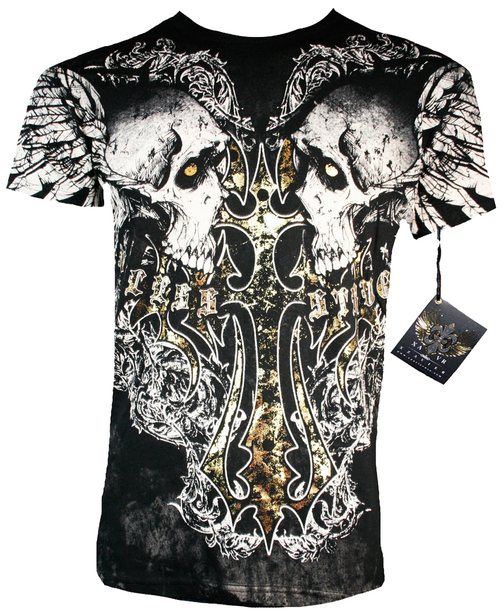 Xzavier - Cross my Bones Skulls T-Shirt