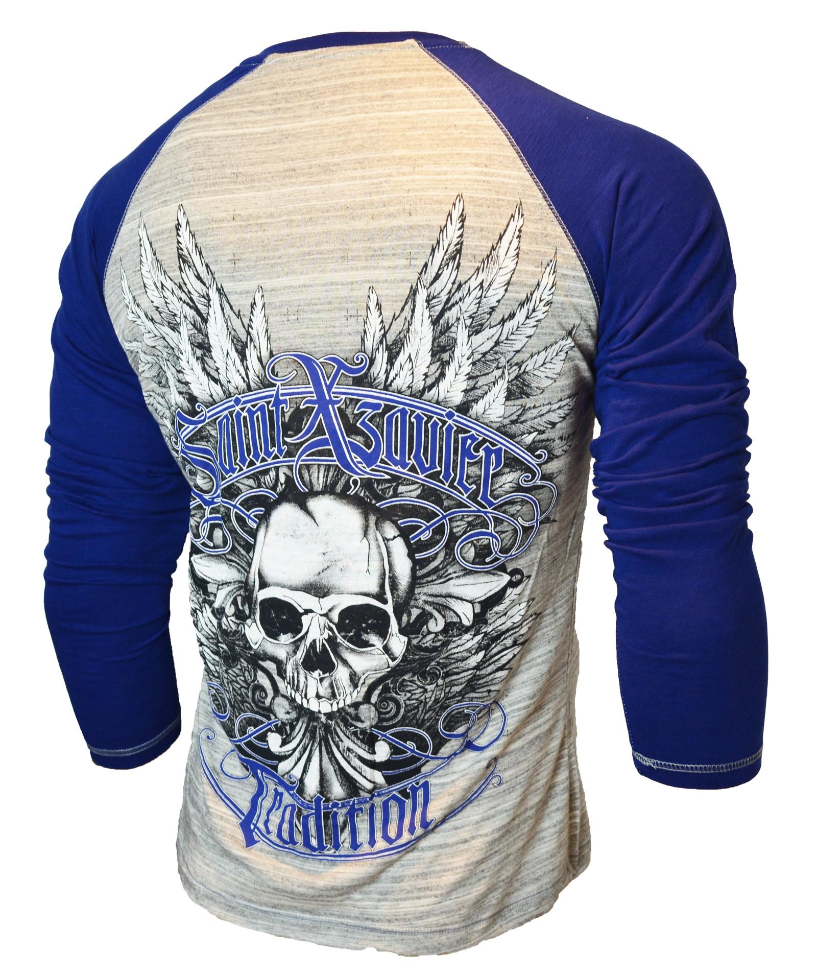 Xzavier - LIMITED Saint Skull Longsleeve T-Shirt