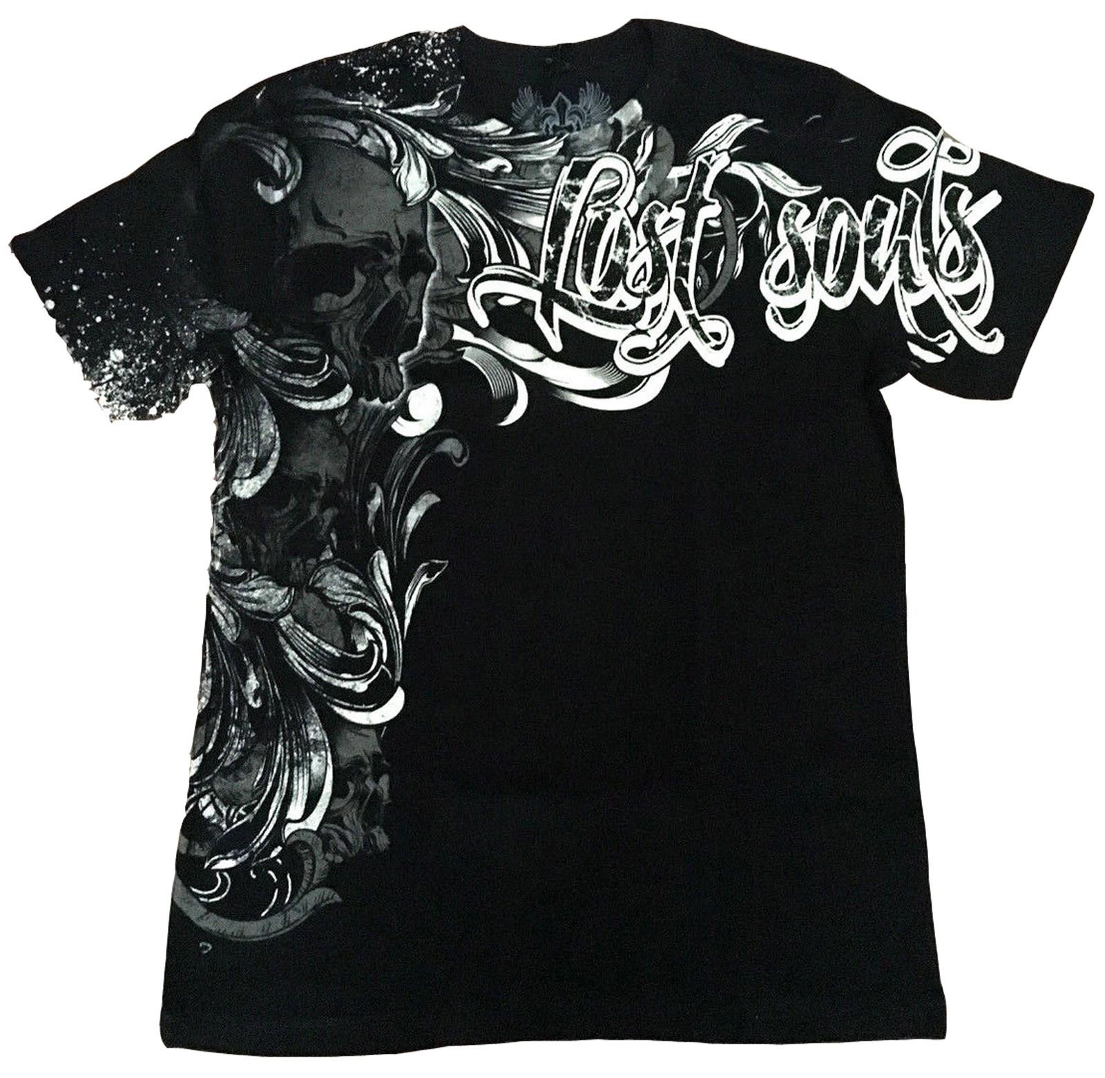 Xzavier - Lost Soul Skull T-Shirt