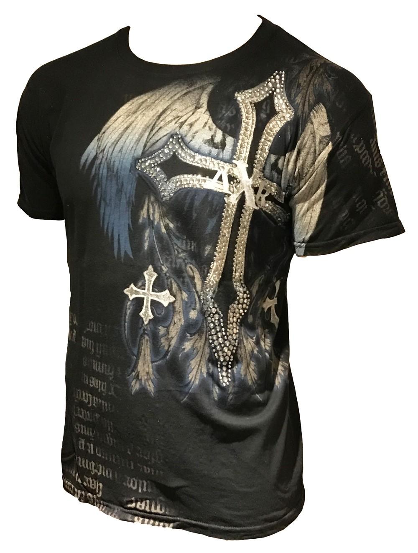 Xzavier - Madhouse Blues Rhinestones/Strass T-Shirt