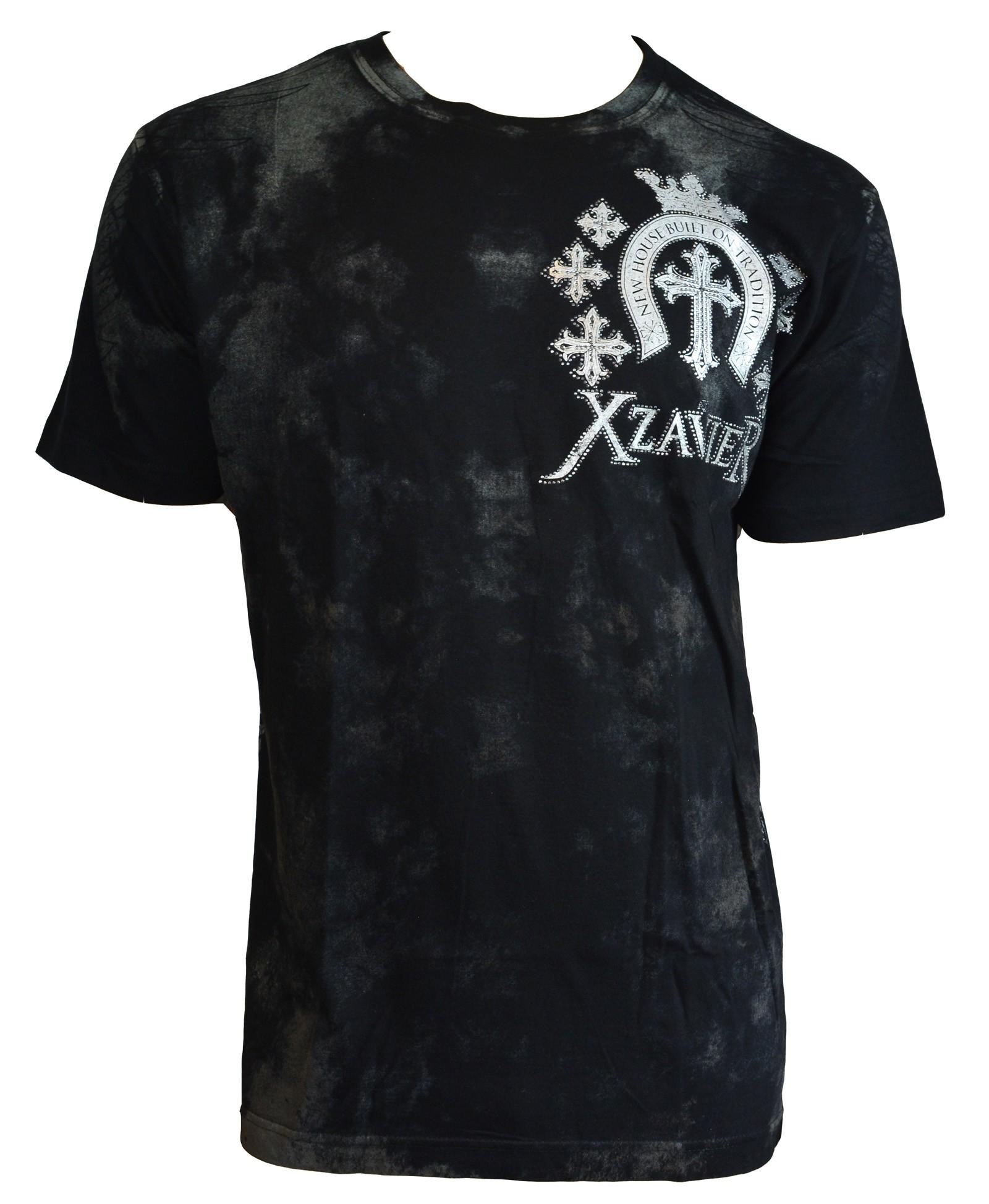 Xzavier - Tradition Wings Rhinestones/Strass T-Shirt