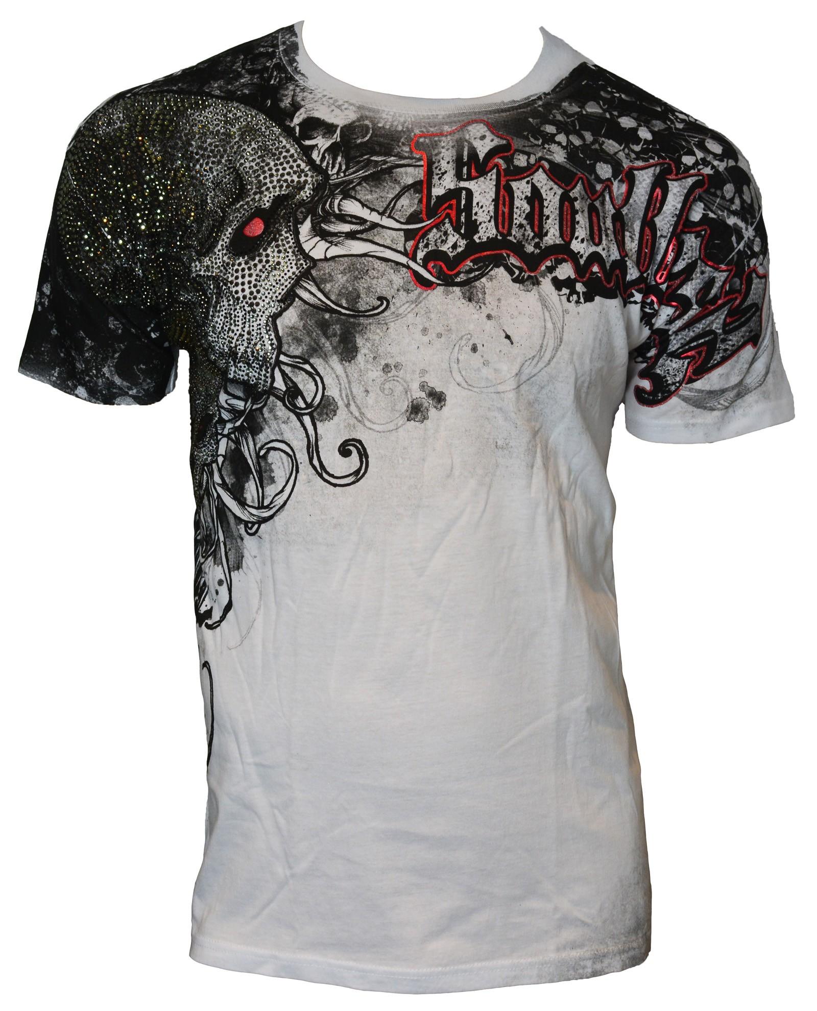 Xzavier - Soul Skull Rhinestones/Strass T-Shirt