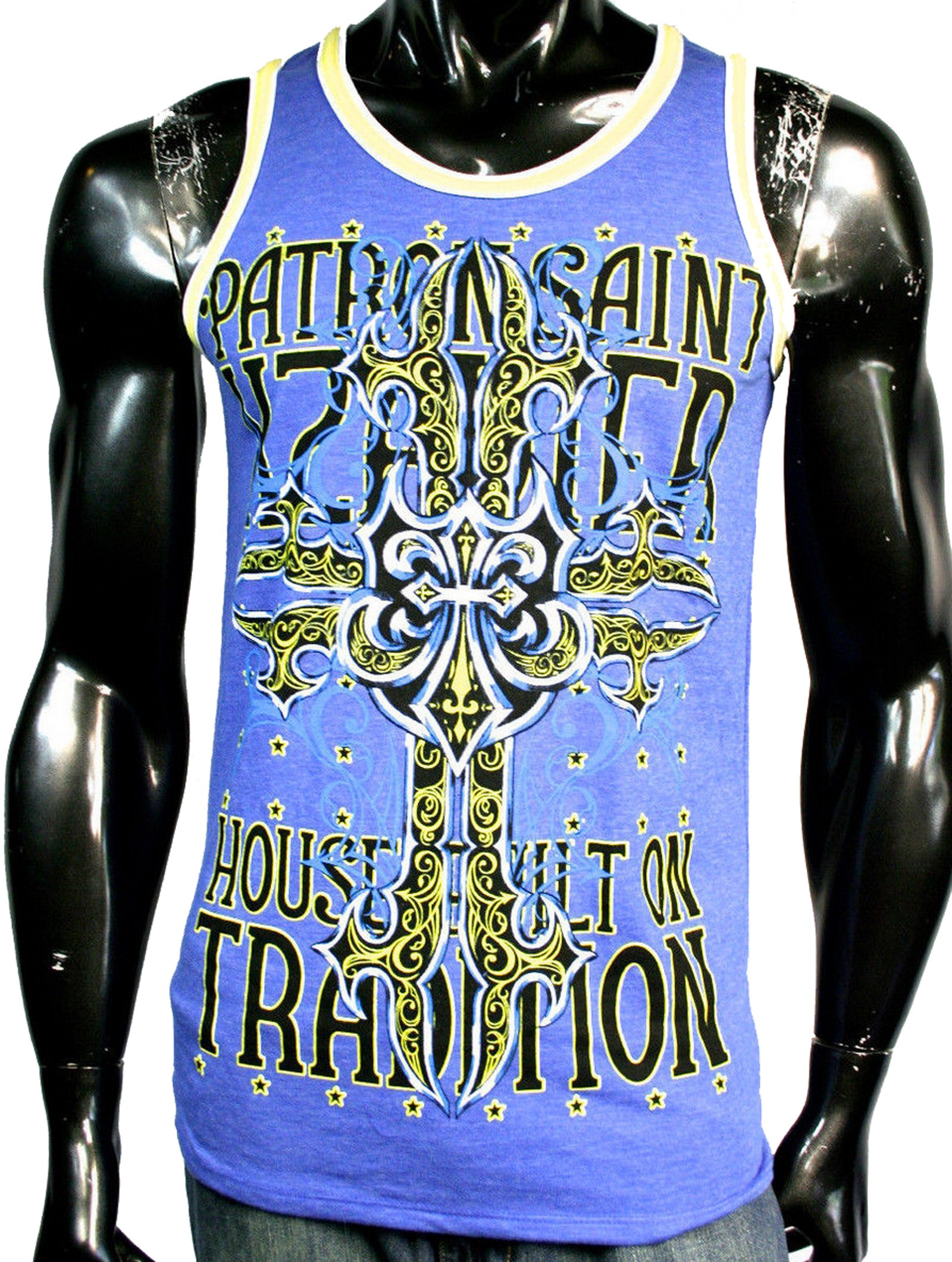 Xzavier - Cross My Heart Tank Top Shirt