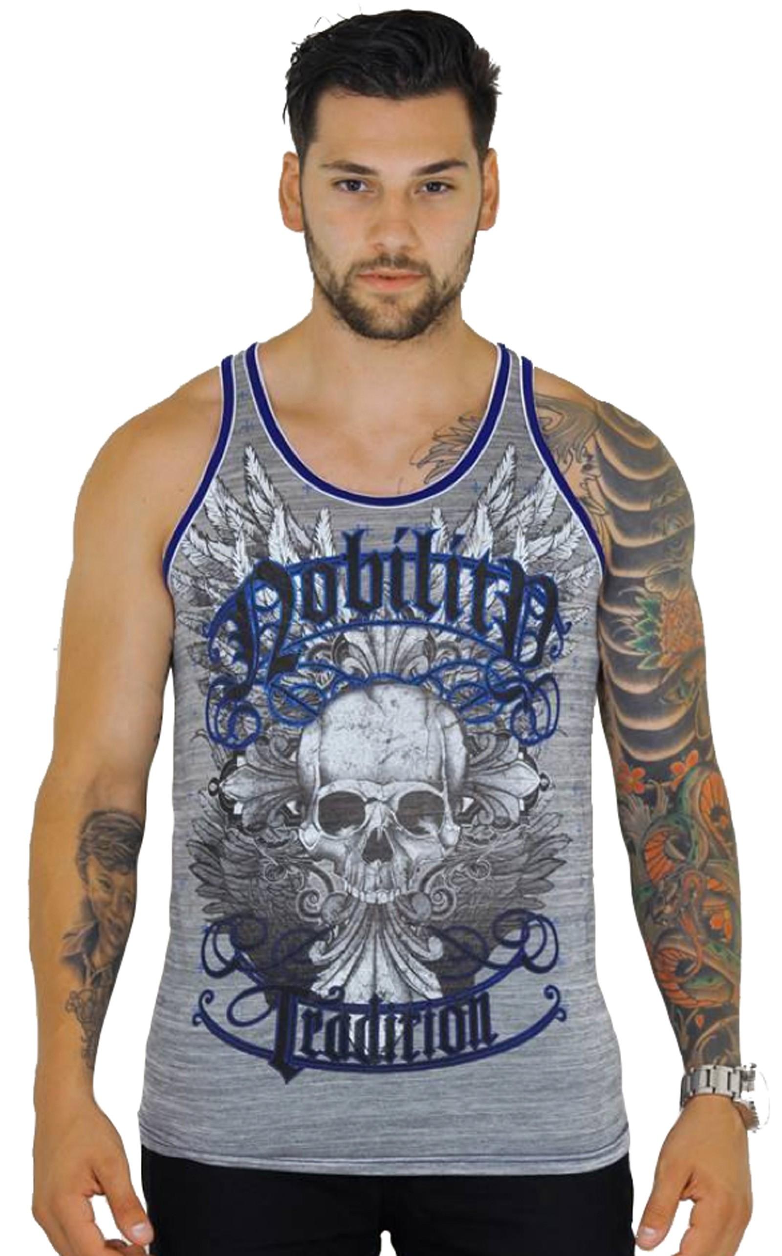 Xzavier - Glory Skull Tank Top Shirt