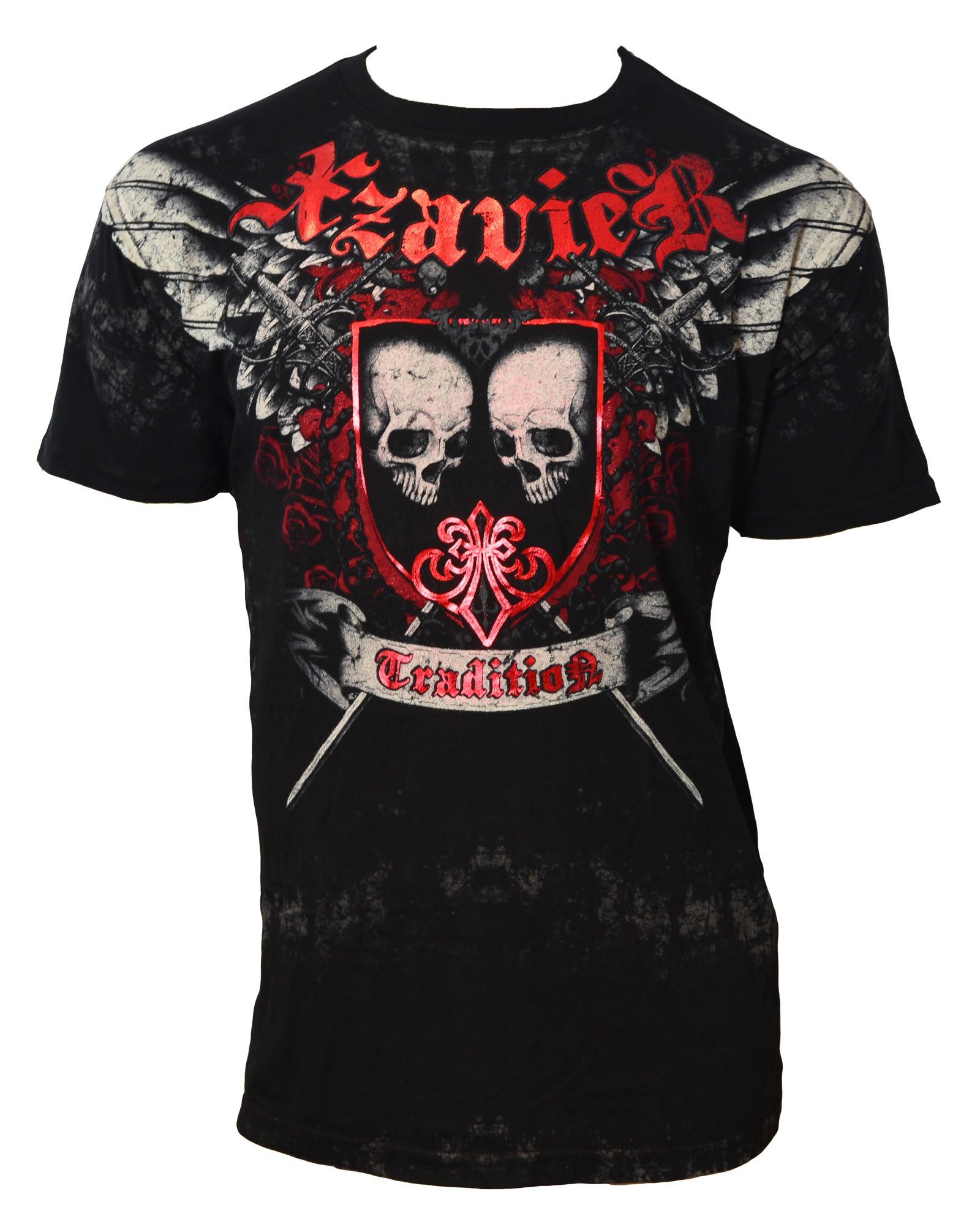 Xzavier - Tradition Skulls T-Shirt